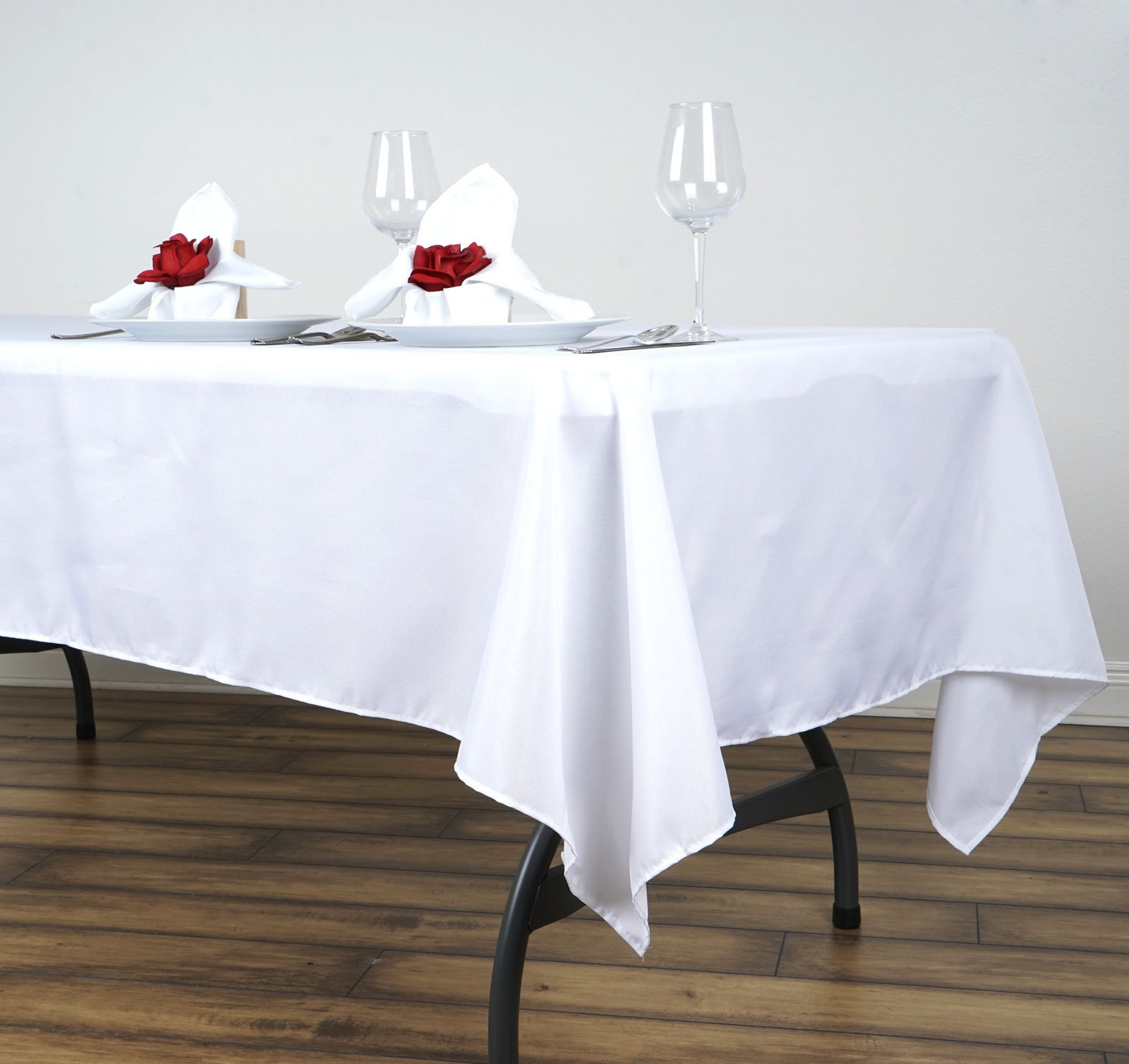 5pcs-60x102-034-Polyester-Rectangle-Tablecloths-For-Wedding-Party-Banquet-Events thumbnail 15