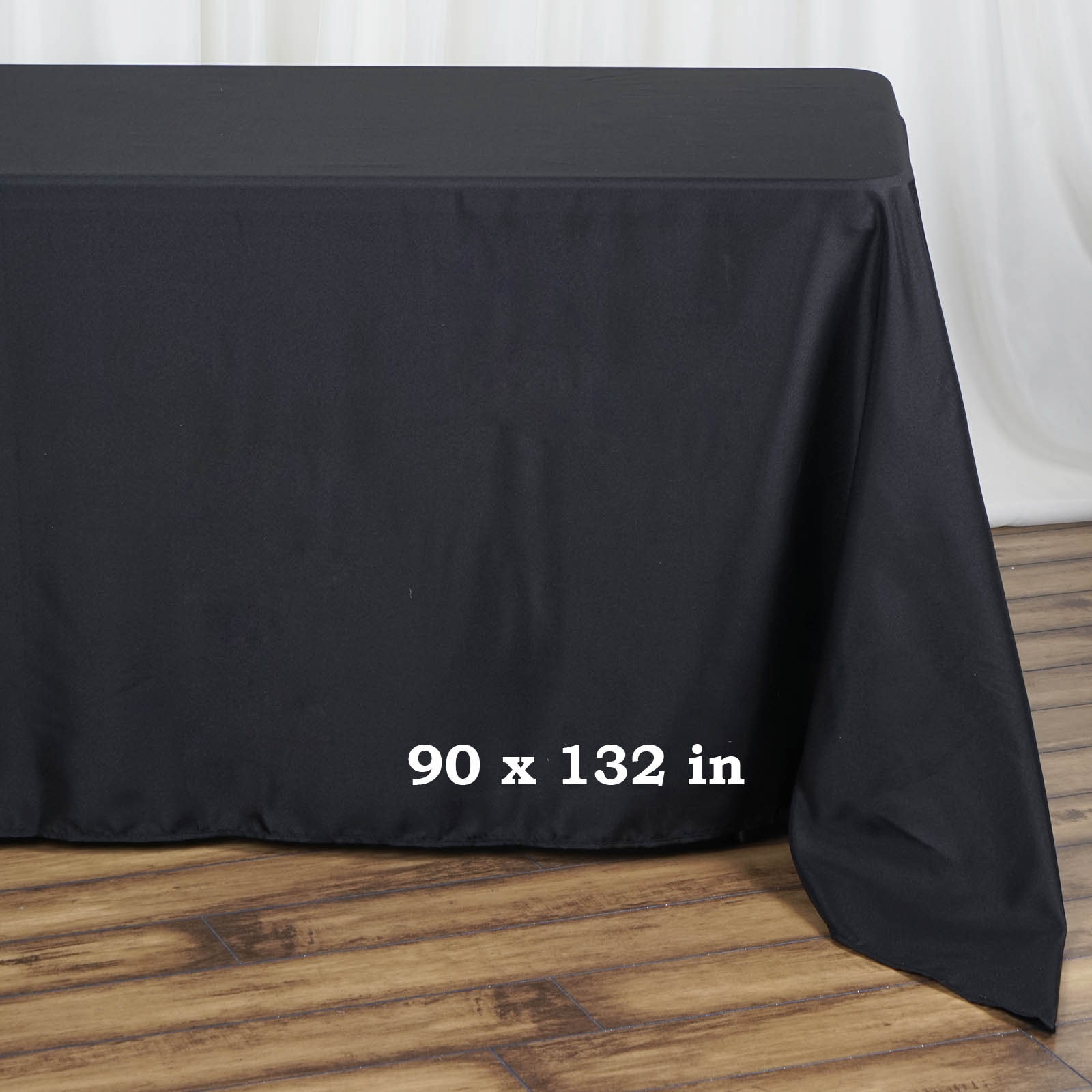 90x132-034-Polyester-Rectangle-Tablecloths-For-Wedding-Party-Banquet-Events thumbnail 3