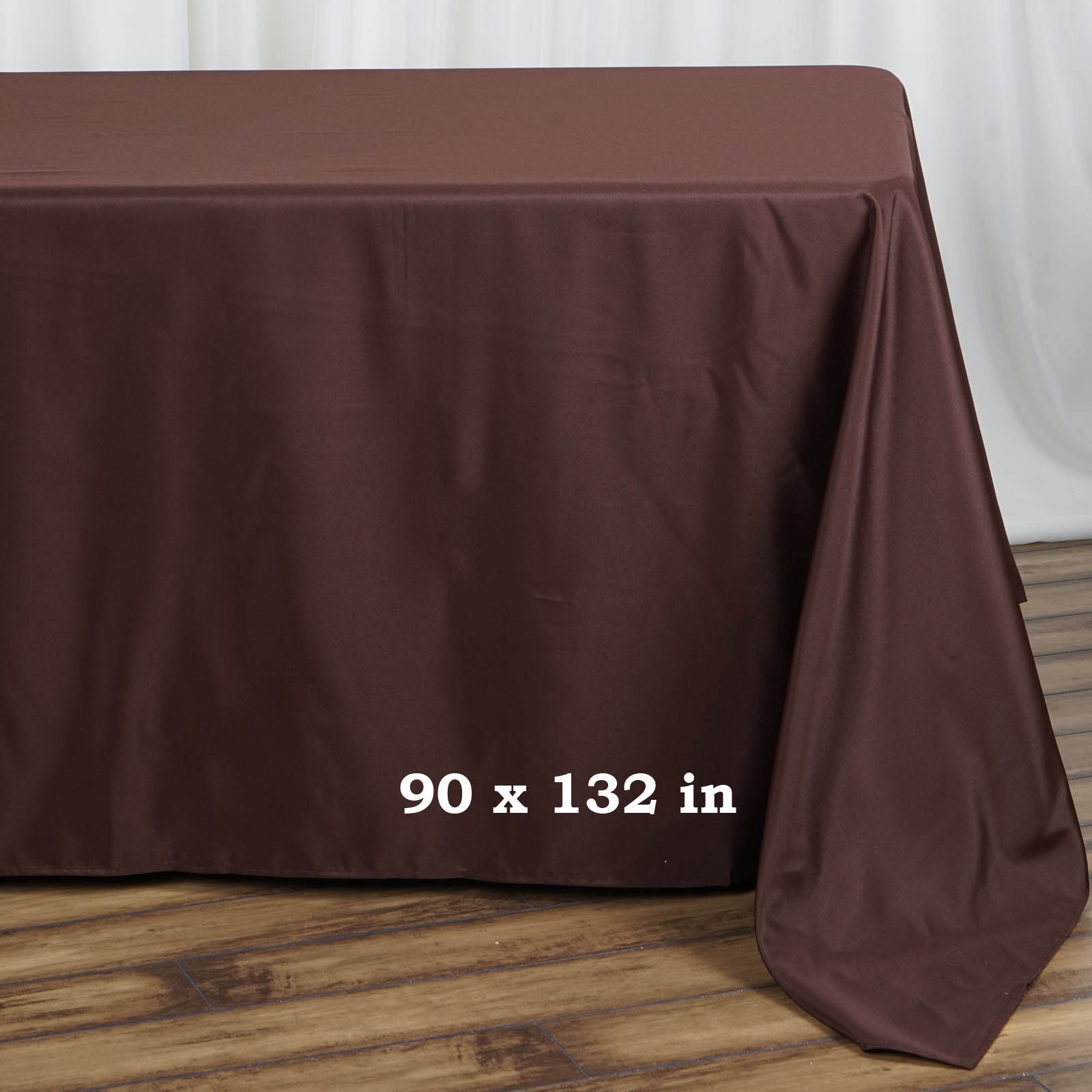 90x132-034-Polyester-Rectangle-Tablecloths-For-Wedding-Party-Banquet-Events thumbnail 11