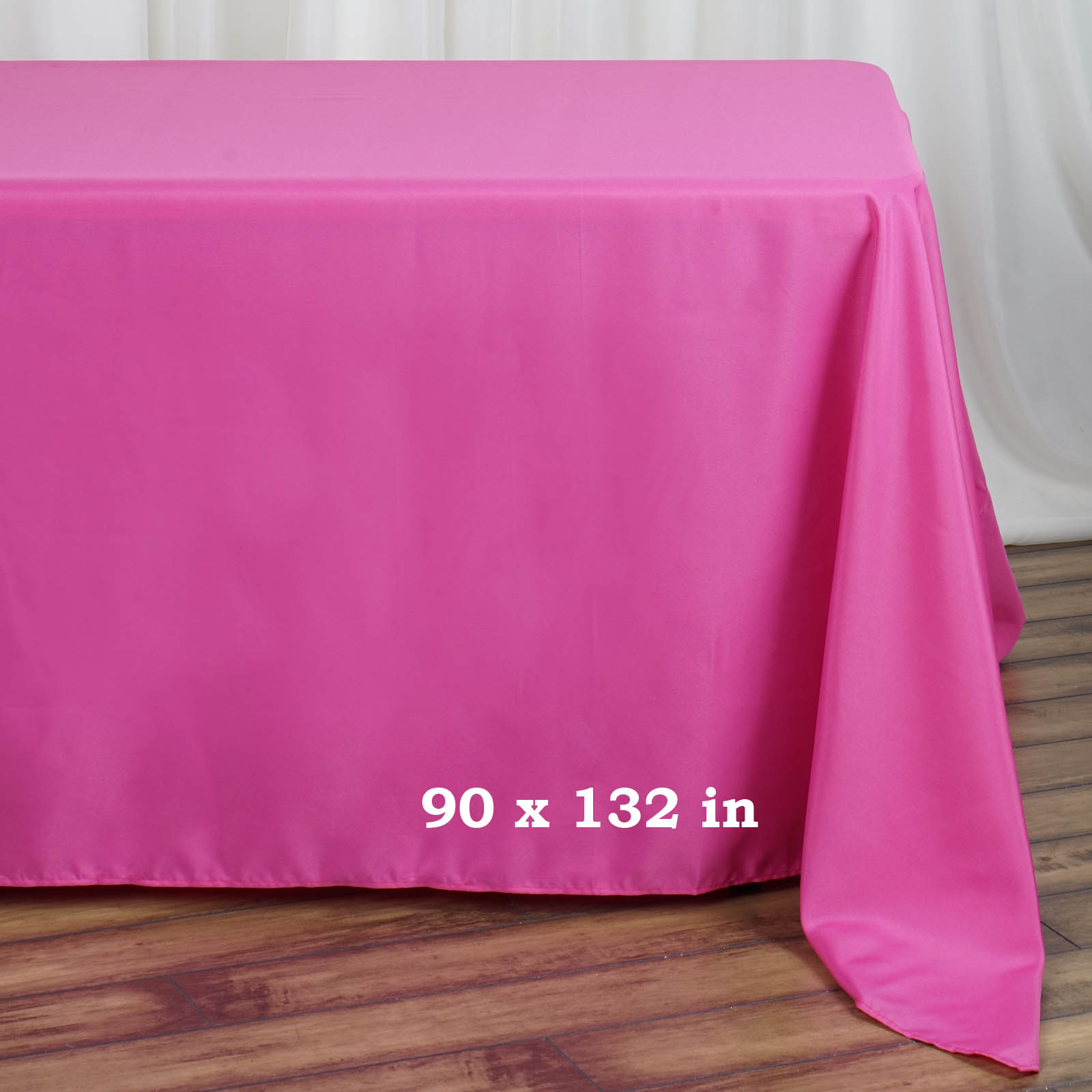 90x132-034-Polyester-Rectangle-Tablecloths-For-Wedding-Party-Banquet-Events thumbnail 19