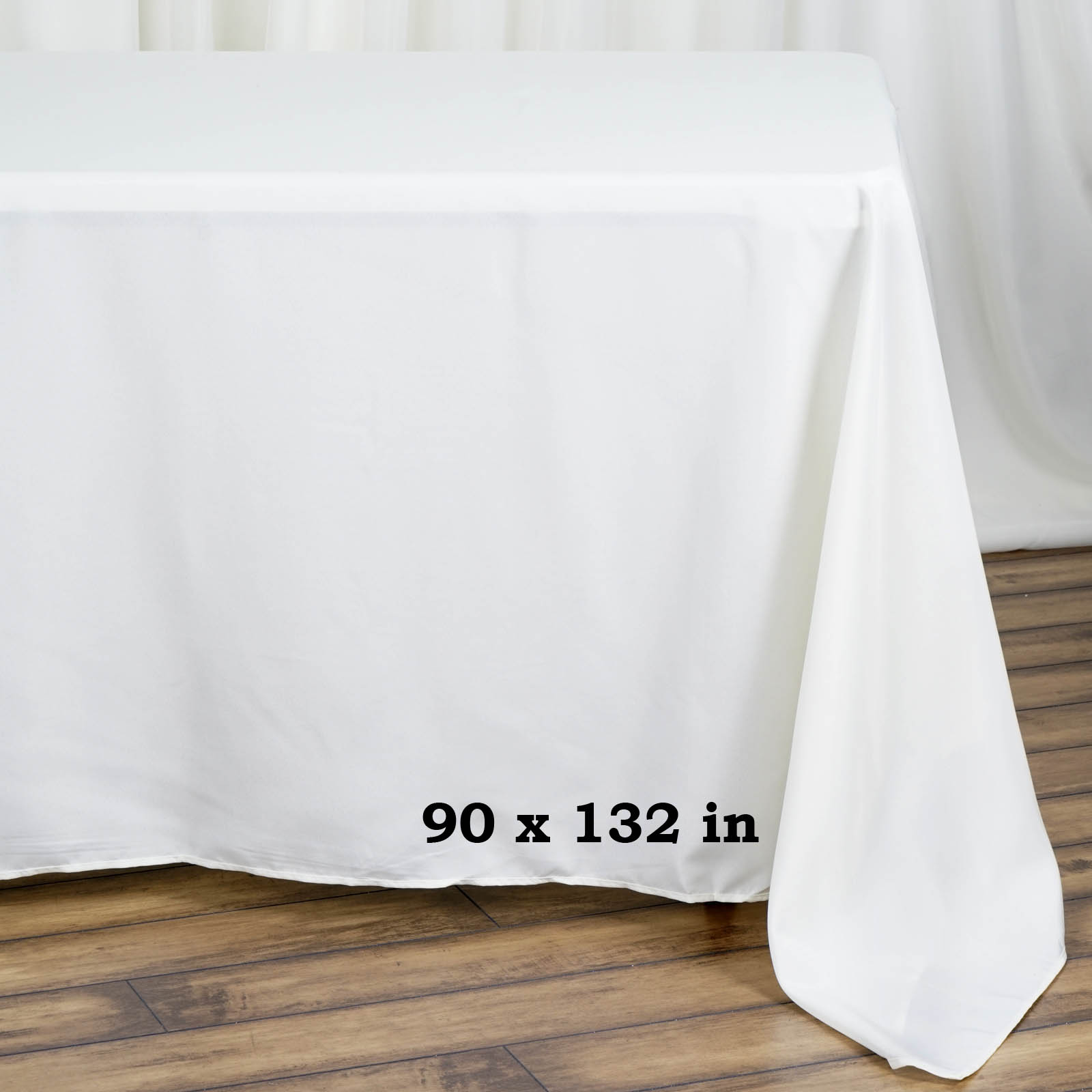 90x132-034-Polyester-Rectangle-Tablecloths-For-Wedding-Party-Banquet-Events thumbnail 23