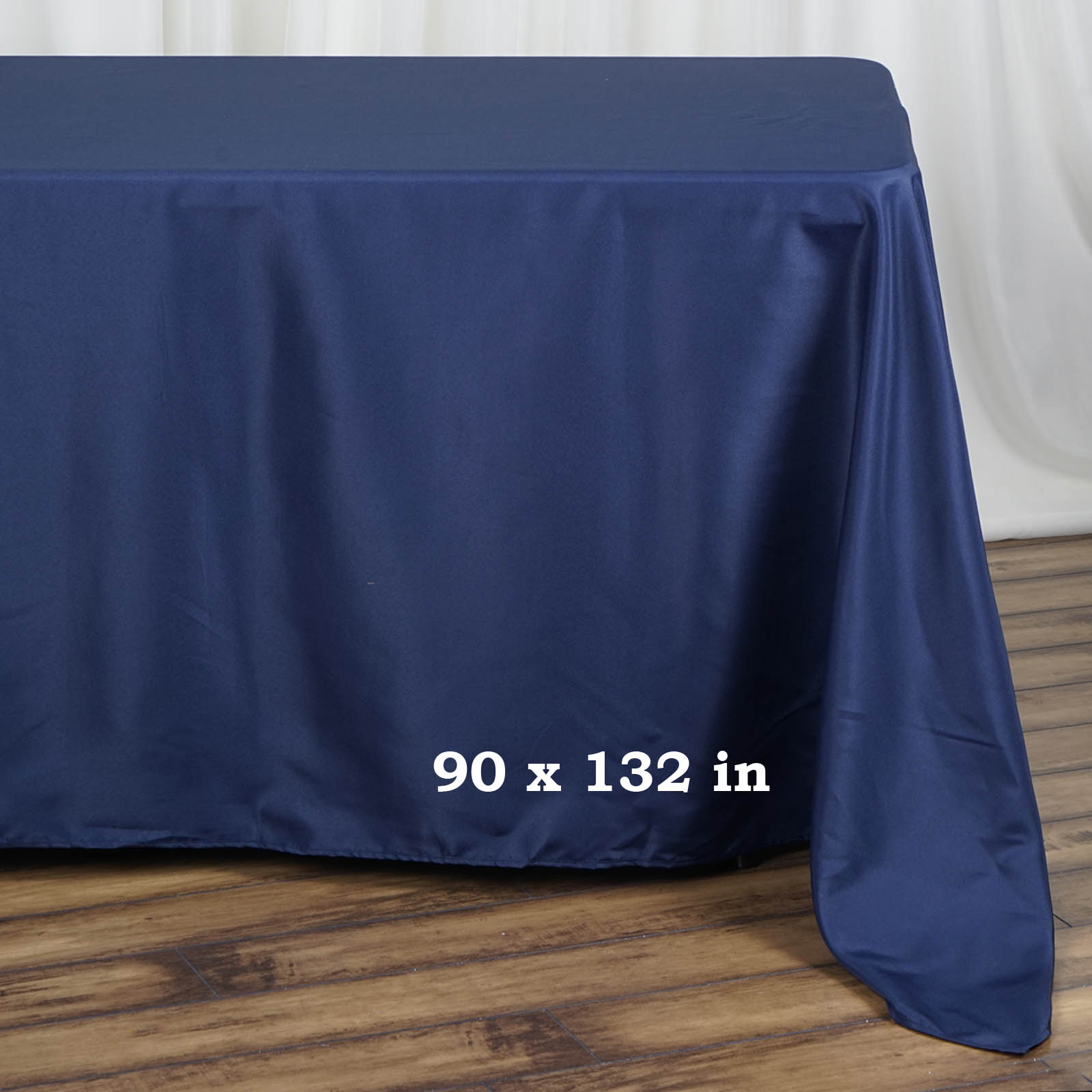 90x132-034-Polyester-Rectangle-Tablecloths-For-Wedding-Party-Banquet-Events thumbnail 27