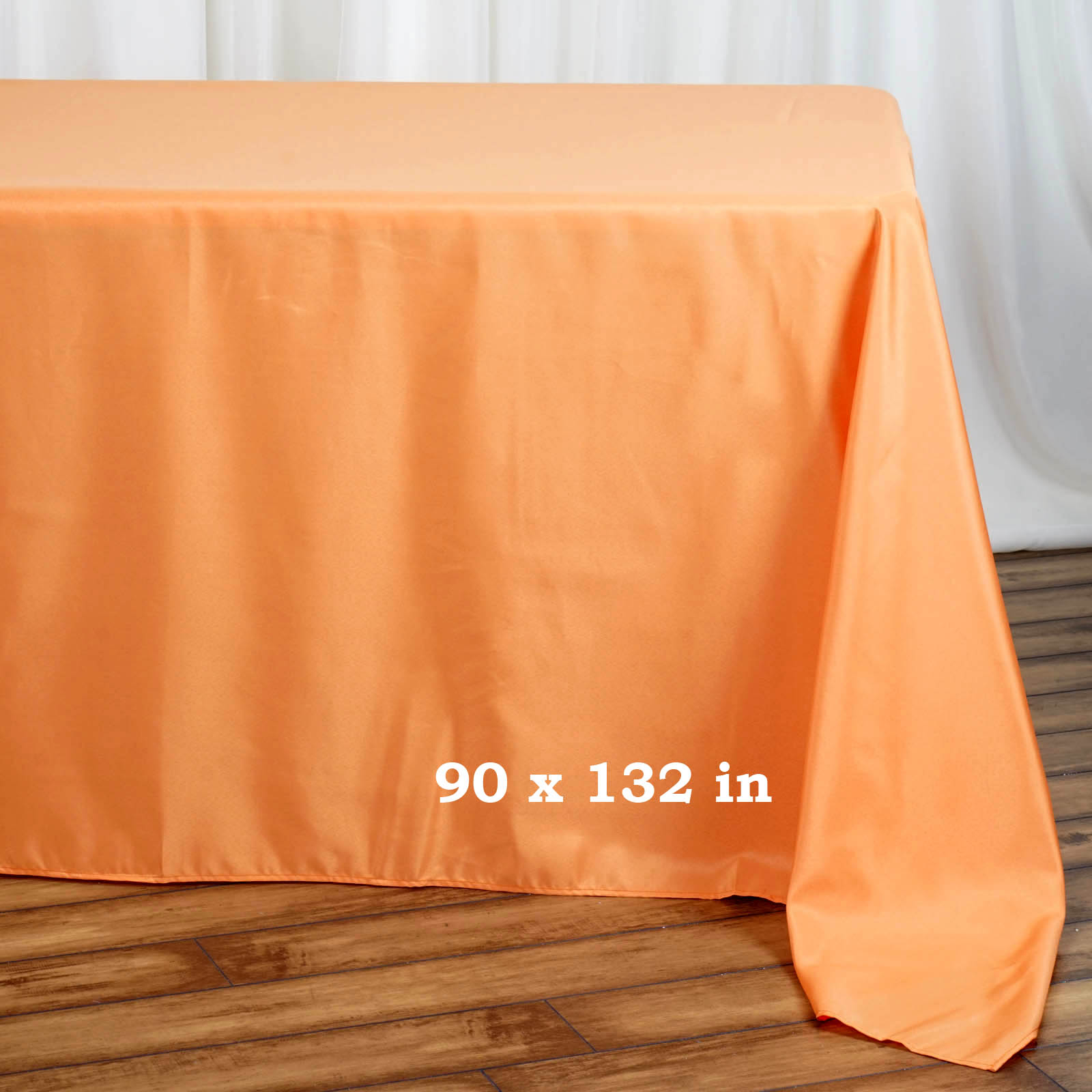 90x132-034-Polyester-Rectangle-Tablecloths-For-Wedding-Party-Banquet-Events thumbnail 31