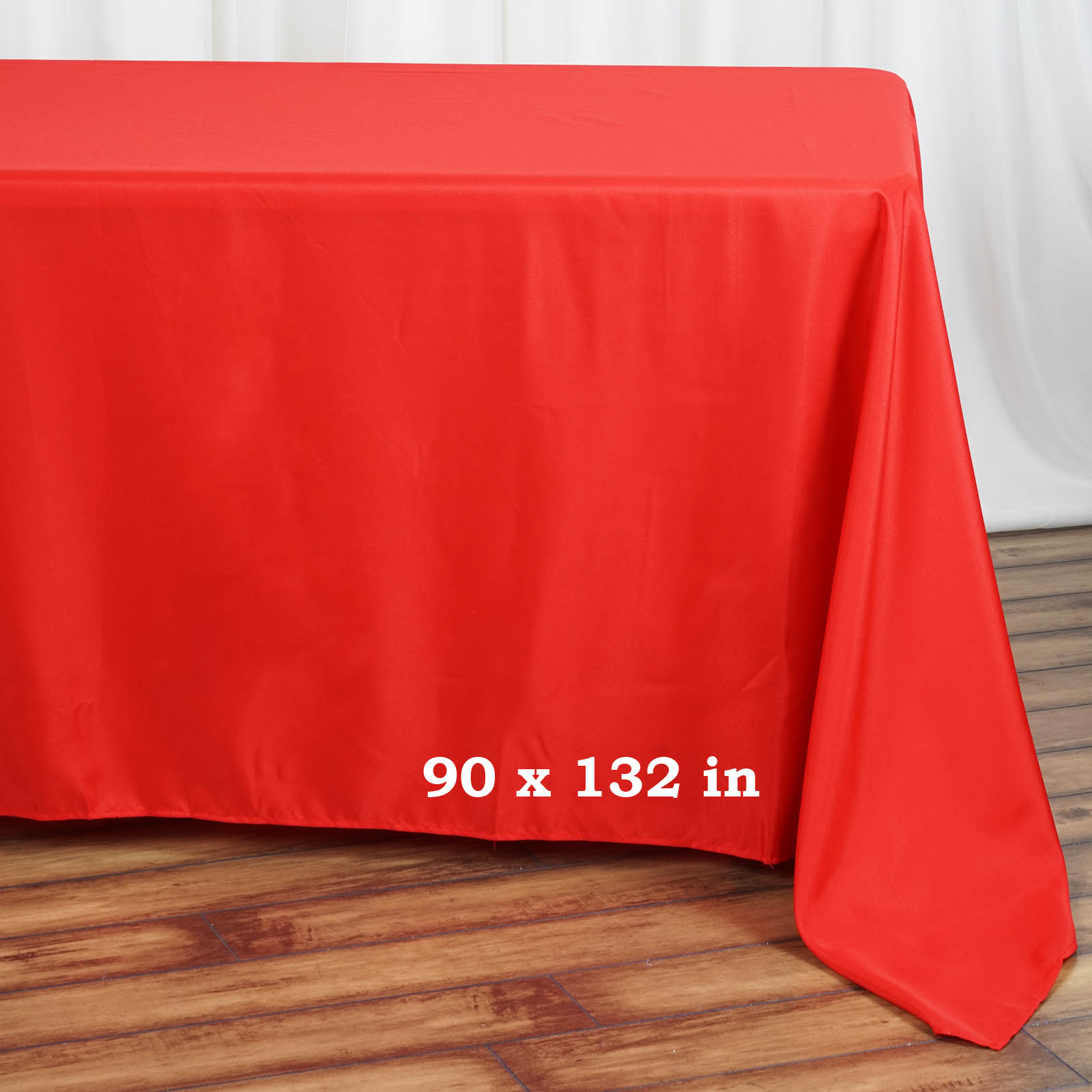 90x132-034-Polyester-Rectangle-Tablecloths-For-Wedding-Party-Banquet-Events thumbnail 35
