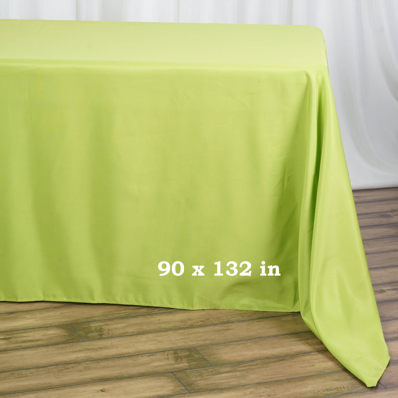 90x132-034-Polyester-Rectangle-Tablecloths-For-Wedding-Party-Banquet-Events thumbnail 39