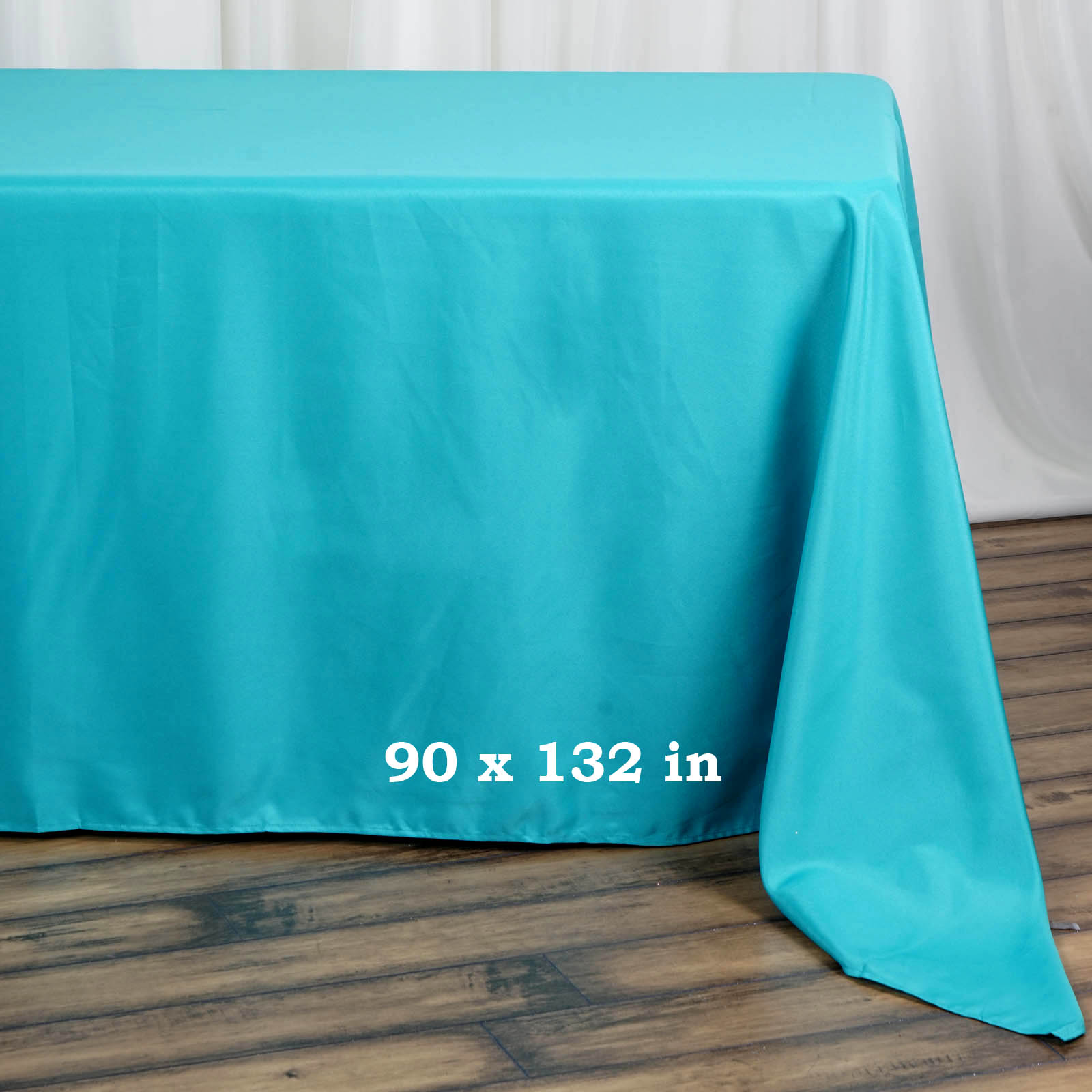90x132-034-Polyester-Rectangle-Tablecloths-For-Wedding-Party-Banquet-Events thumbnail 43