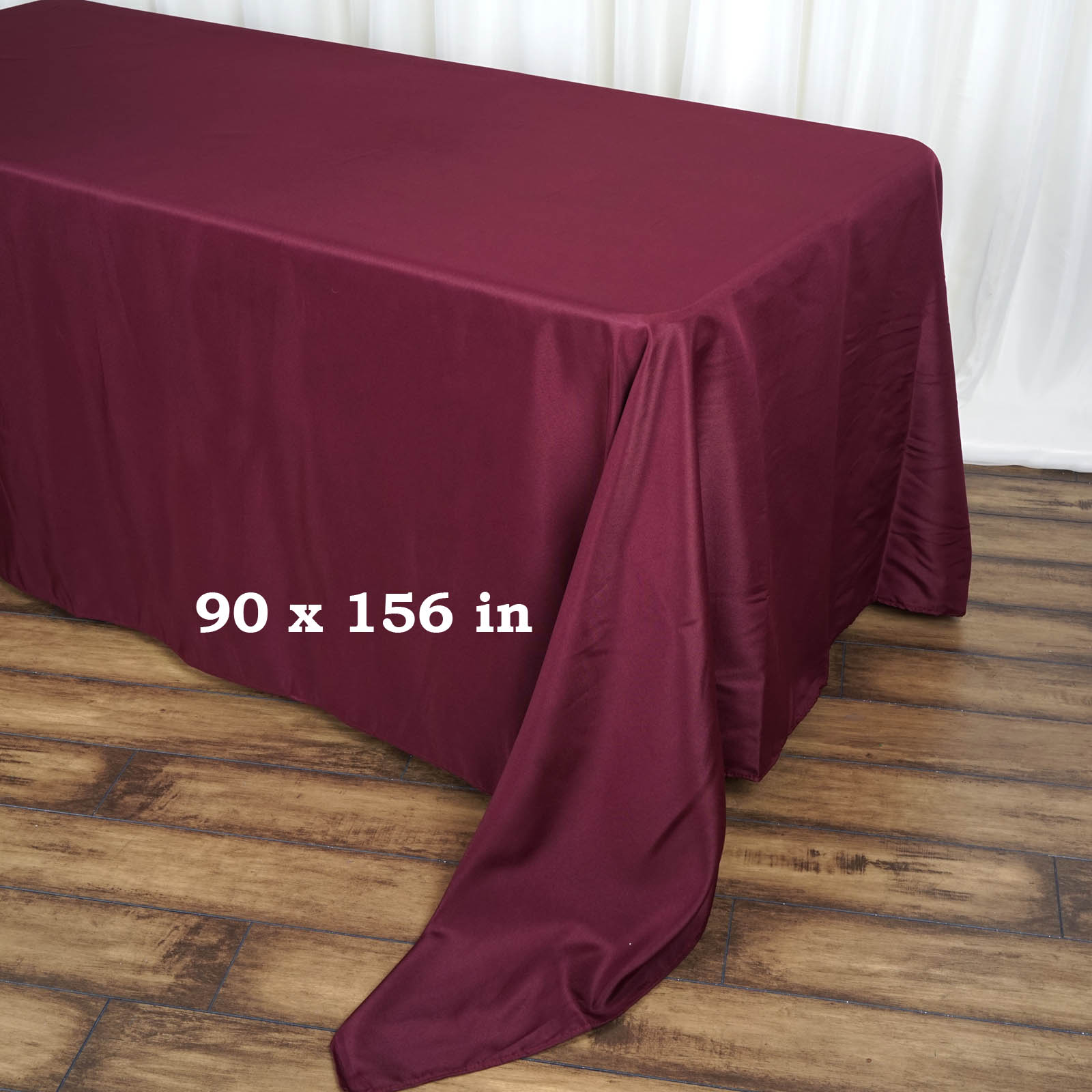 90x156-034-Polyester-Rectangle-Tablecloths-For-Wedding-Party-Banquet-Events thumbnail 7