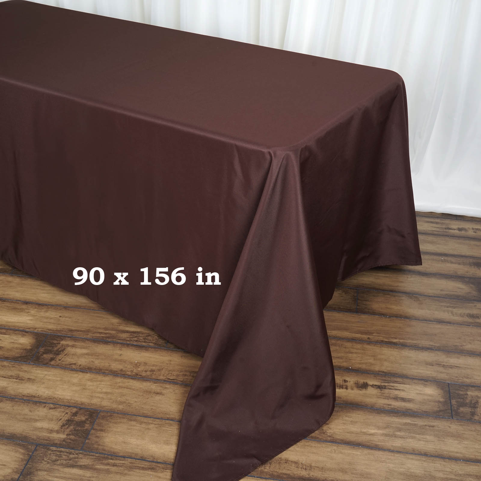 90x156-034-Polyester-Rectangle-Tablecloths-For-Wedding-Party-Banquet-Events thumbnail 11