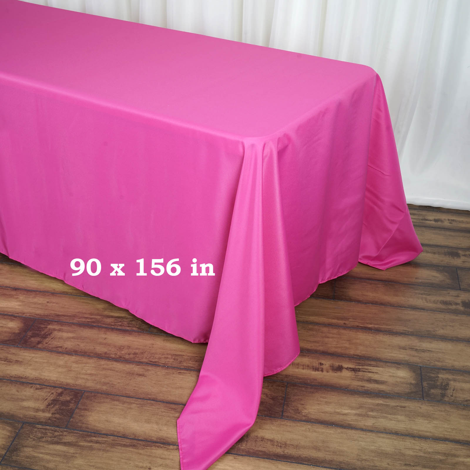 90x156-034-Polyester-Rectangle-Tablecloths-For-Wedding-Party-Banquet-Events thumbnail 23