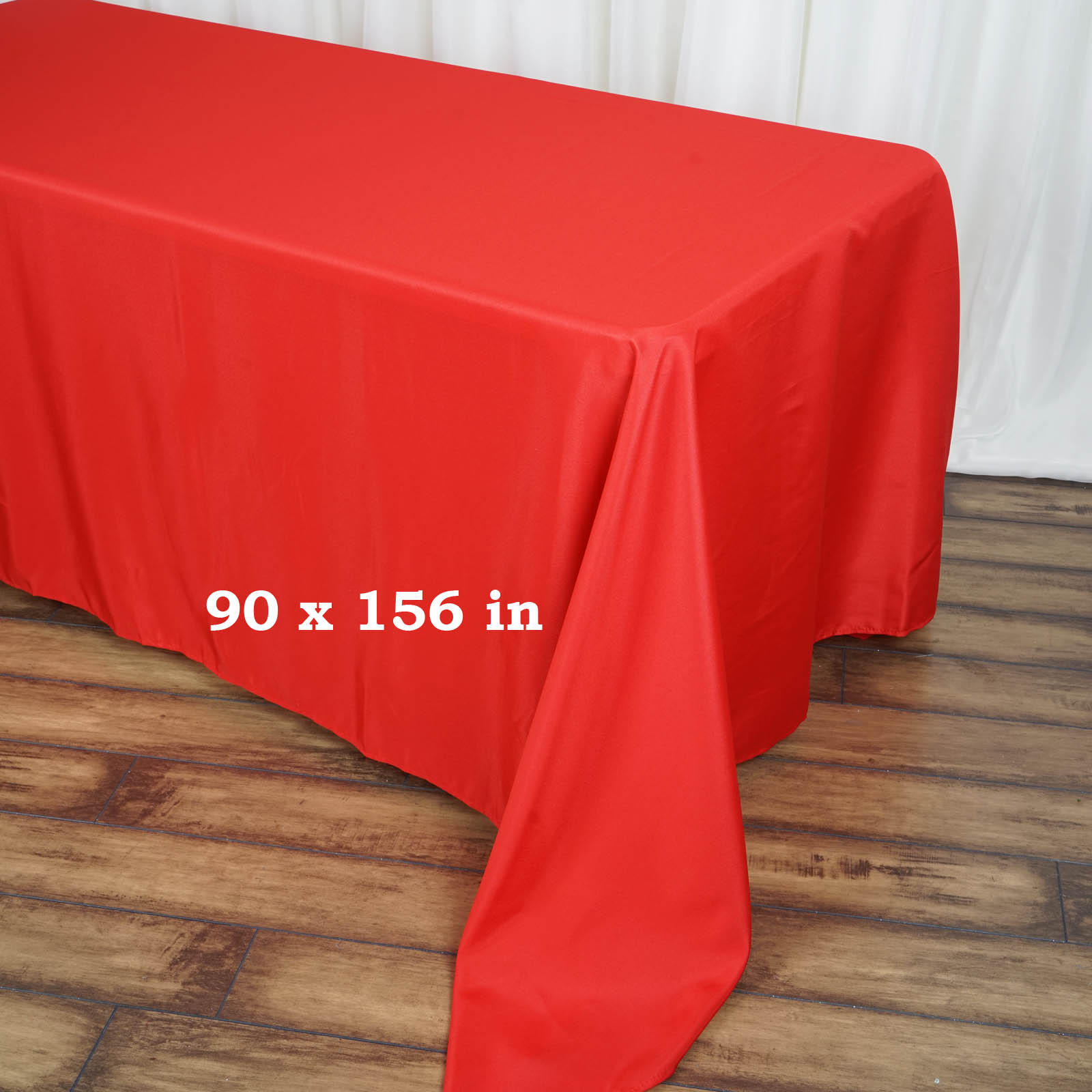90x156-034-Polyester-Rectangle-Tablecloths-For-Wedding-Party-Banquet-Events thumbnail 42