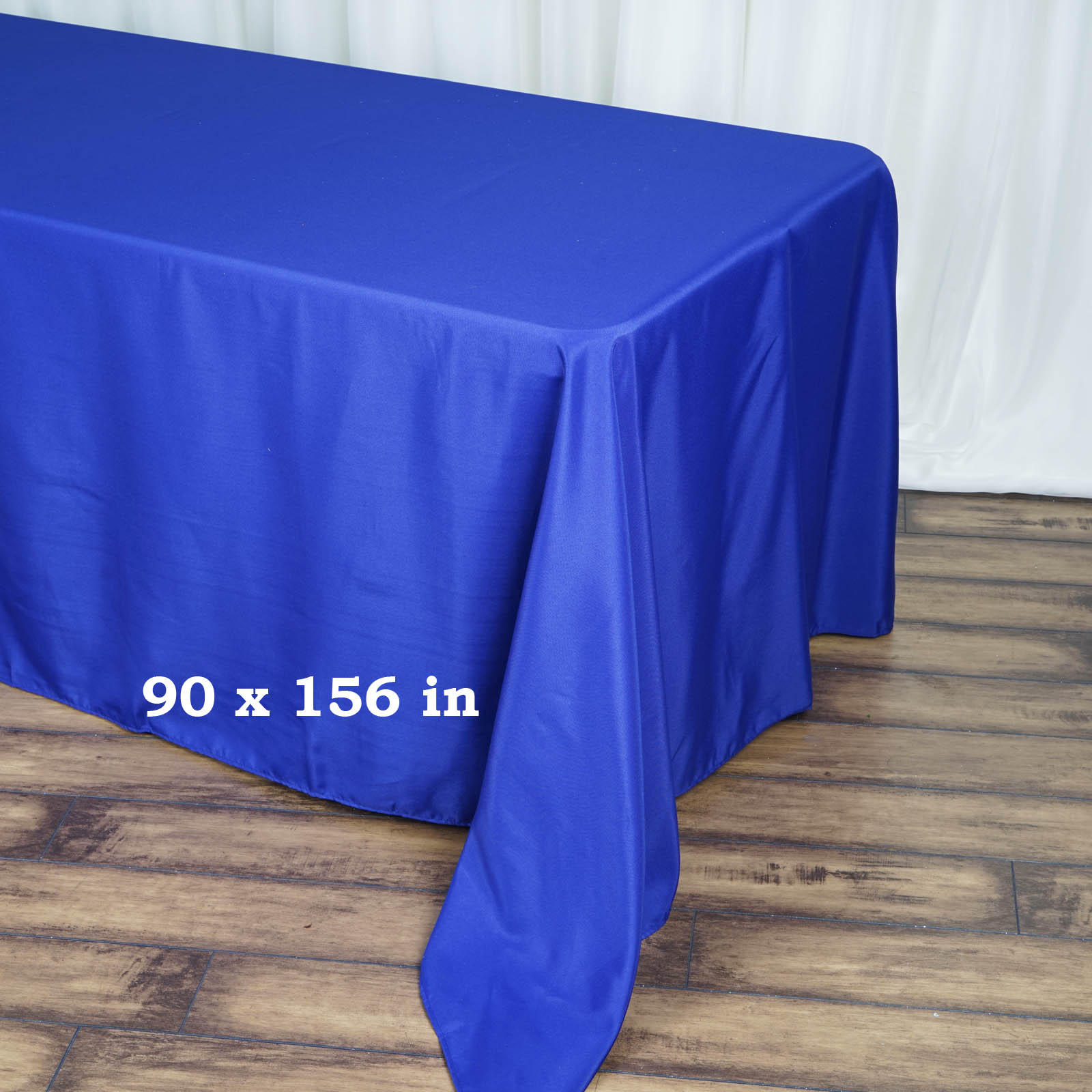 90x156-034-Polyester-Rectangle-Tablecloths-For-Wedding-Party-Banquet-Events thumbnail 46