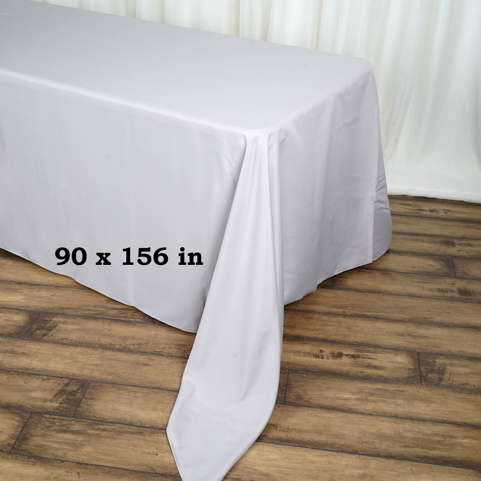 90x156-034-Polyester-Rectangle-Tablecloths-For-Wedding-Party-Banquet-Events thumbnail 54