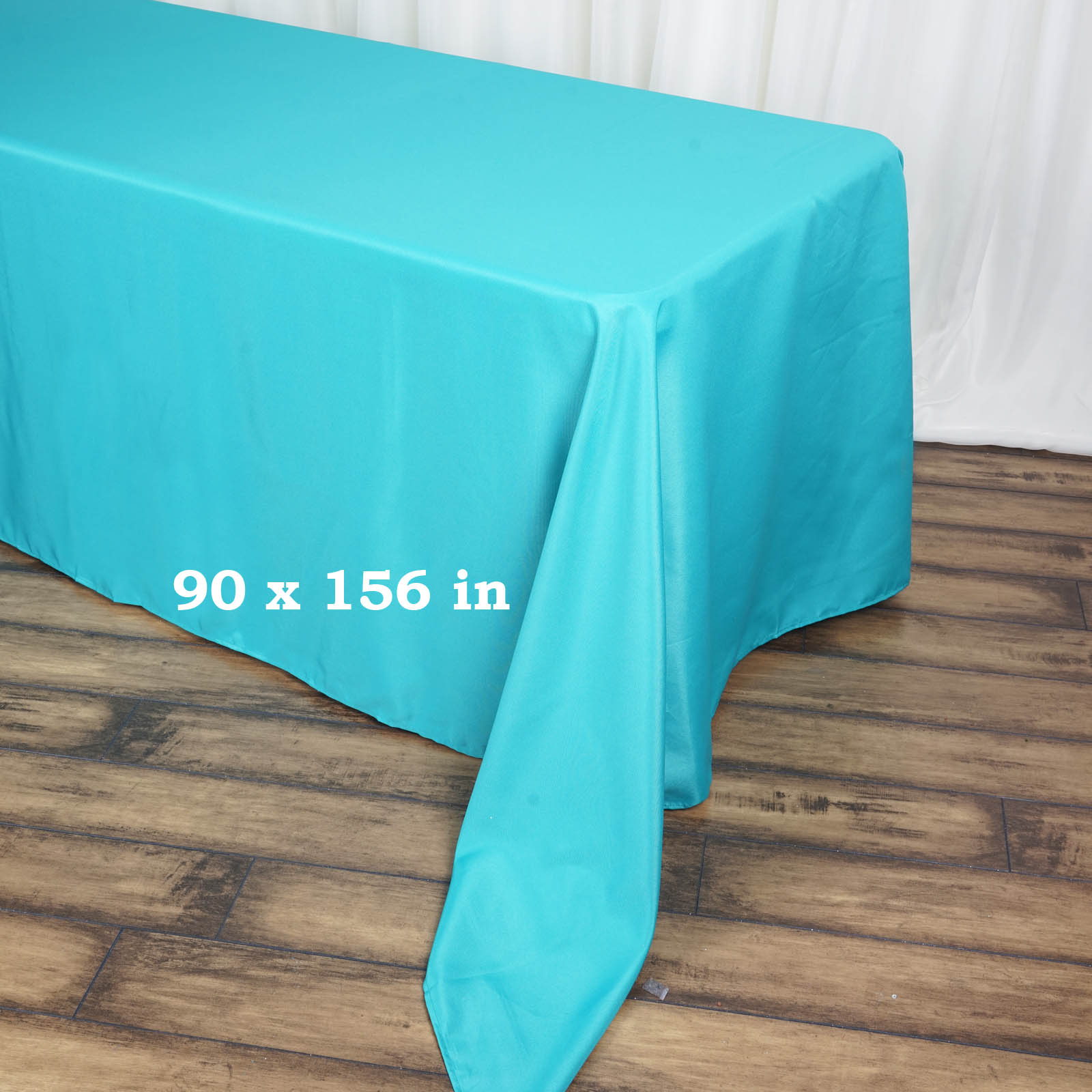 90x156-034-Polyester-Rectangle-Tablecloths-For-Wedding-Party-Banquet-Events thumbnail 58