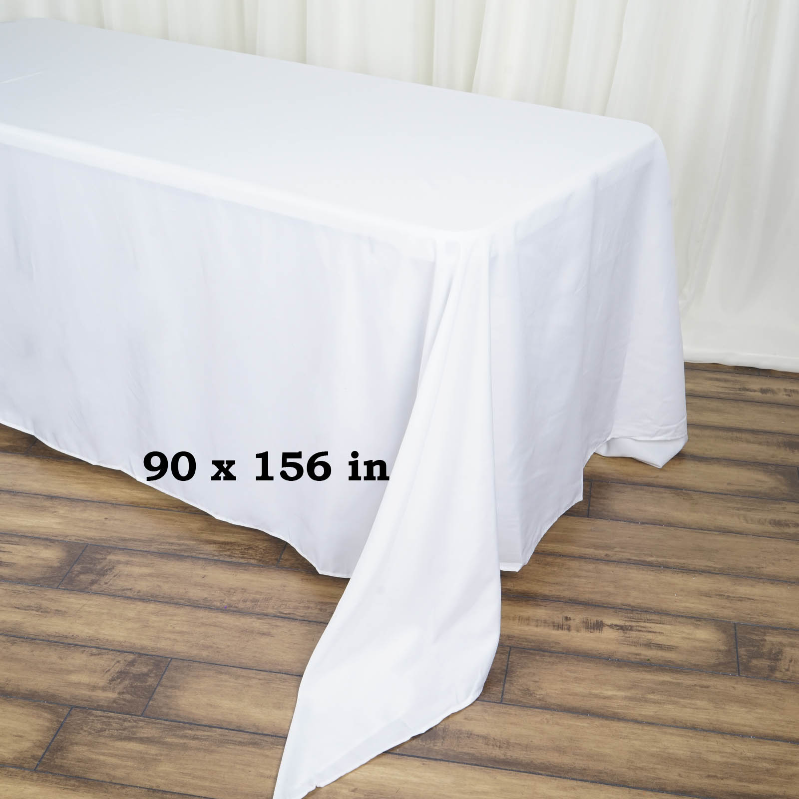 90x156-034-Polyester-Rectangle-Tablecloths-For-Wedding-Party-Banquet-Events thumbnail 62