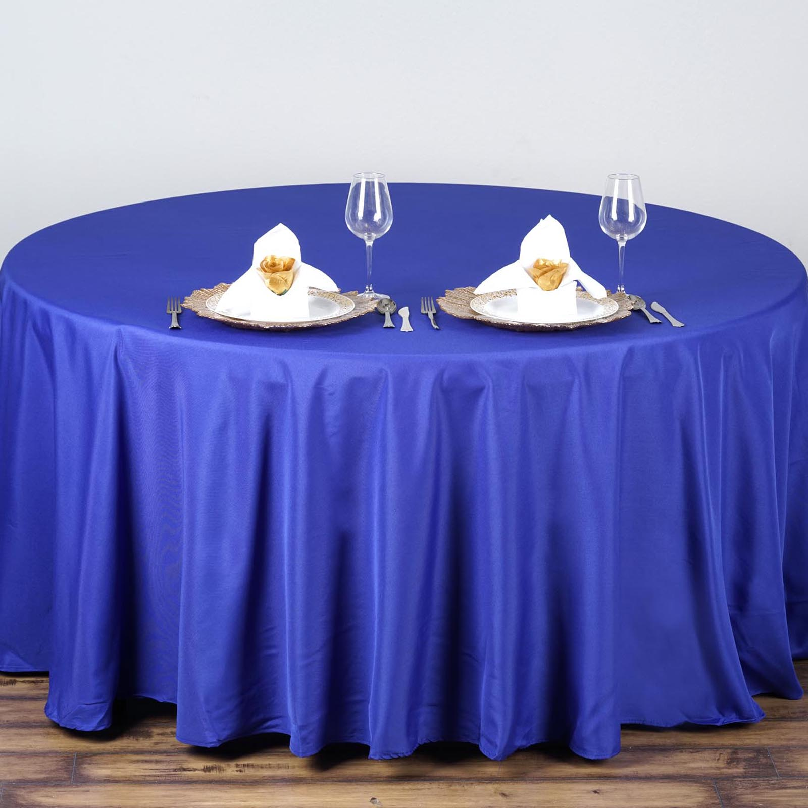 90 034 Round Polyester Tablecloth