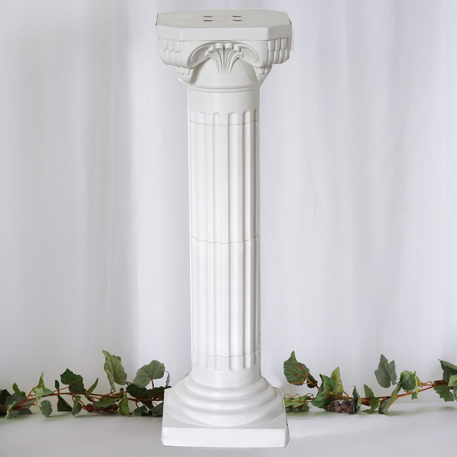 decorative columns for weddings 4 pillars set decorative columns pvc pillars 36 3452