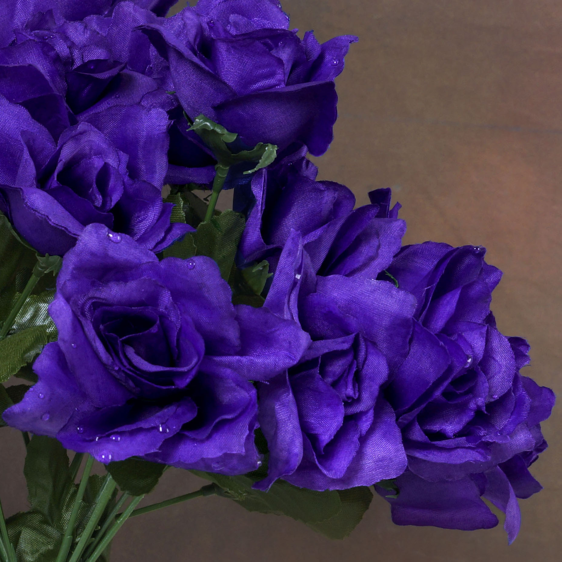 252 SILK OPEN ROSES Wedding WHOLESALE Discounted Flowers Bouquets ...