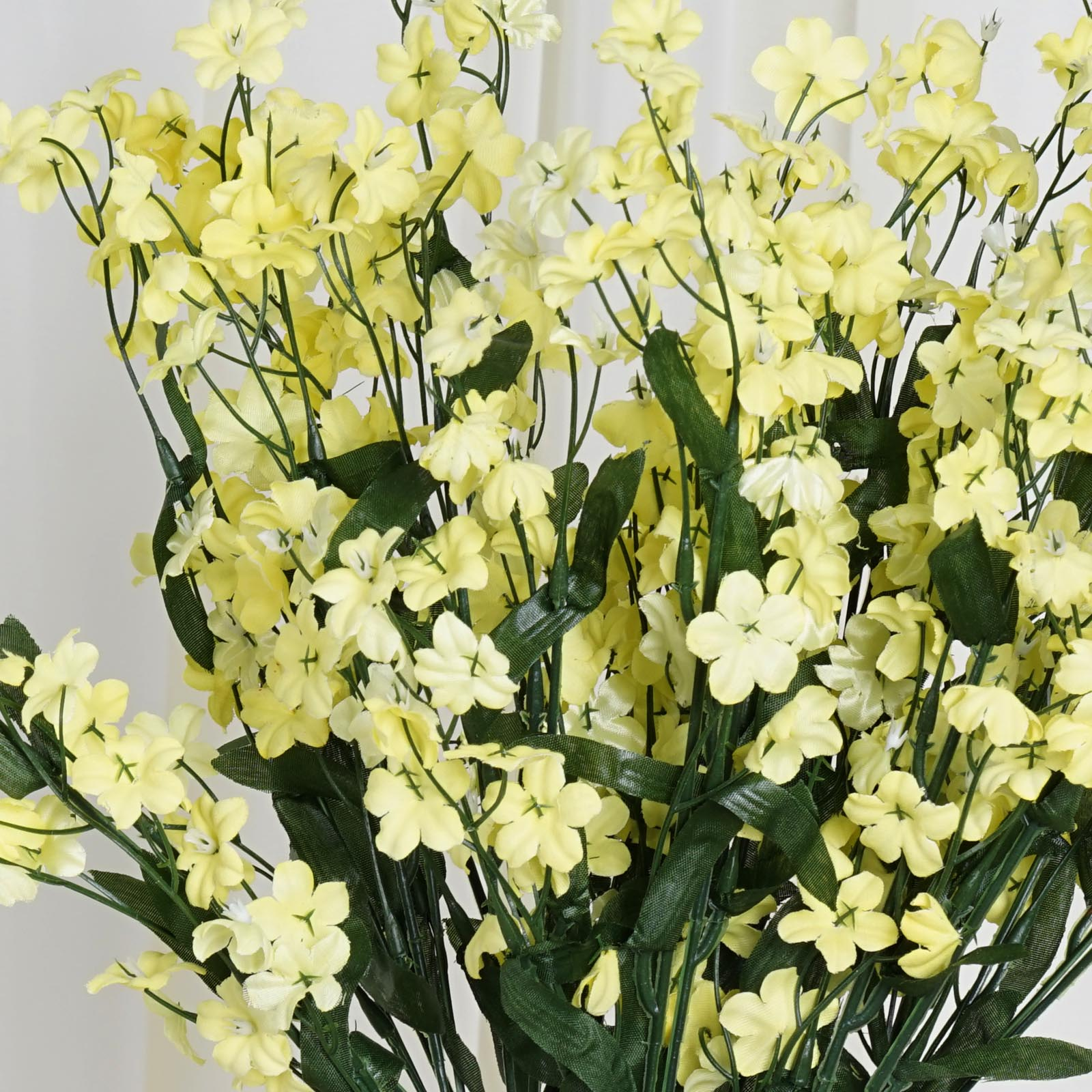 384 Yellow Silk Baby Breath Filler Flowers Wedding Flowers