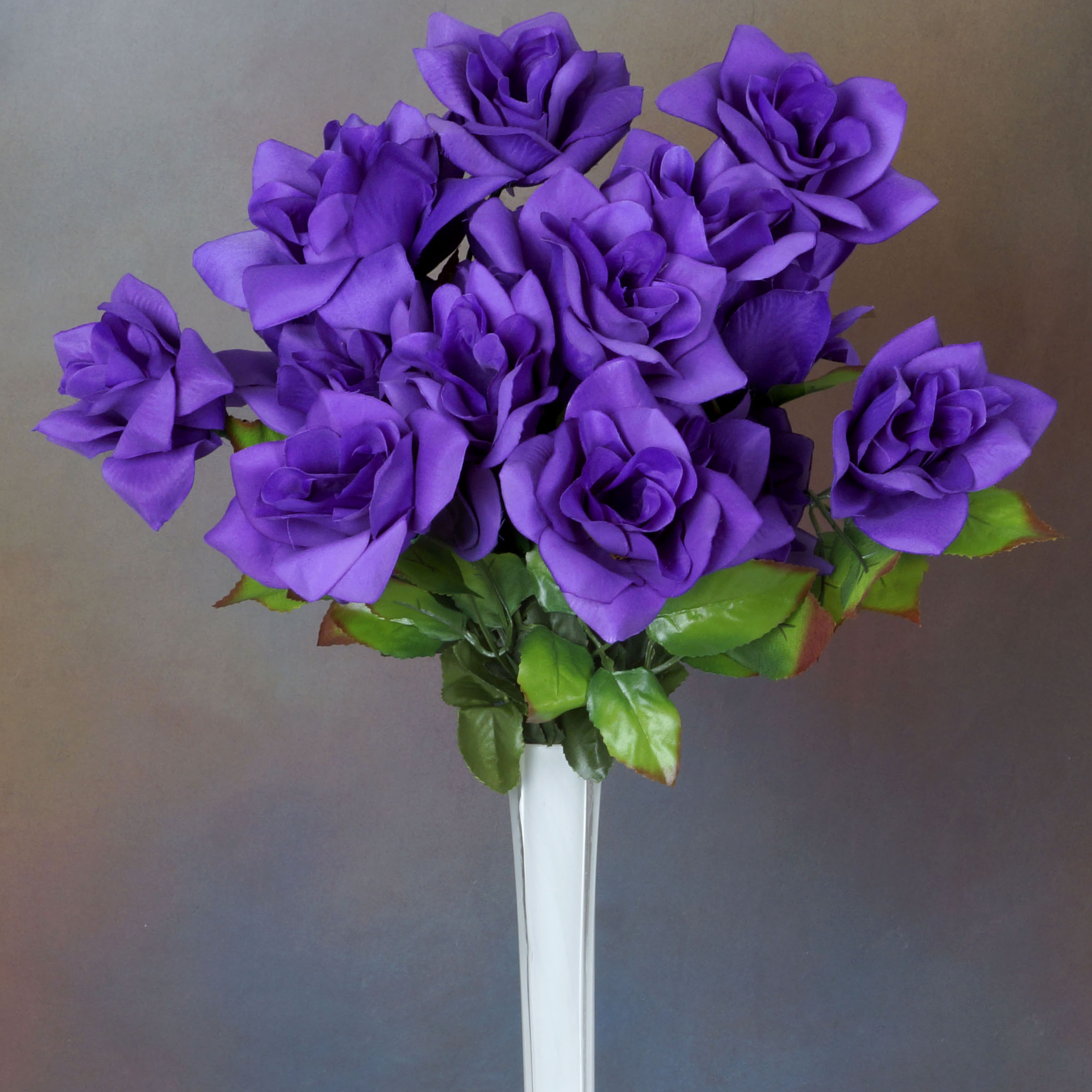 Wedding Flowers Cheap Online: 336 VELVET BLOOM OPEN ROSES Wholesale Wedding Flowers