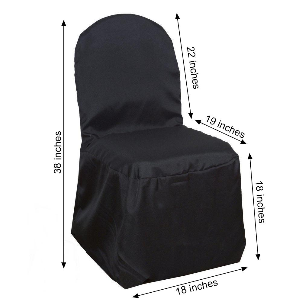 Fine Details About 50 Black Polyester Banquet Chair Covers Wholesale Wedding Party Decorations Creativecarmelina Interior Chair Design Creativecarmelinacom