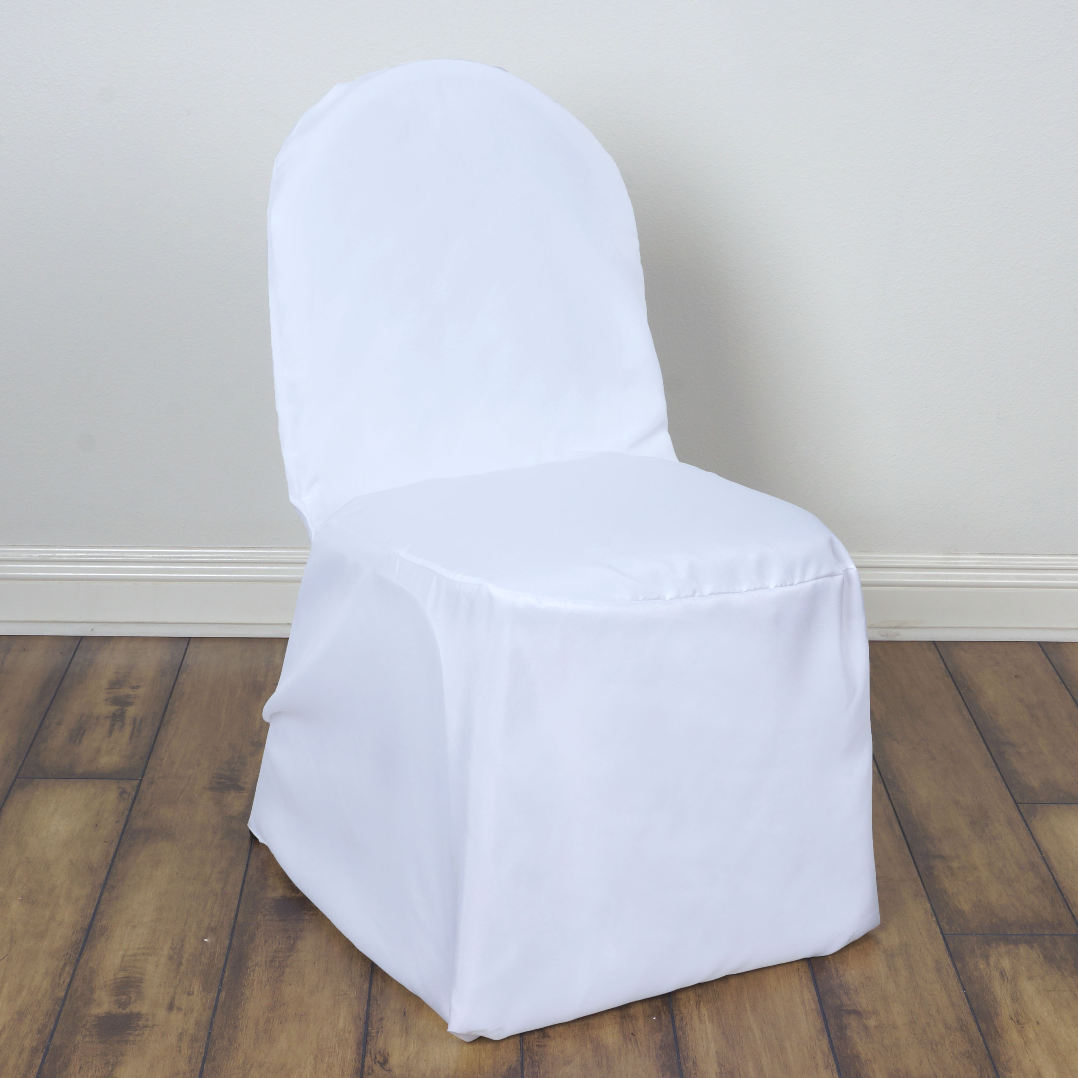 150 pcs POLYESTER BANQUET CHAIR COVERS Wedding Reception Party