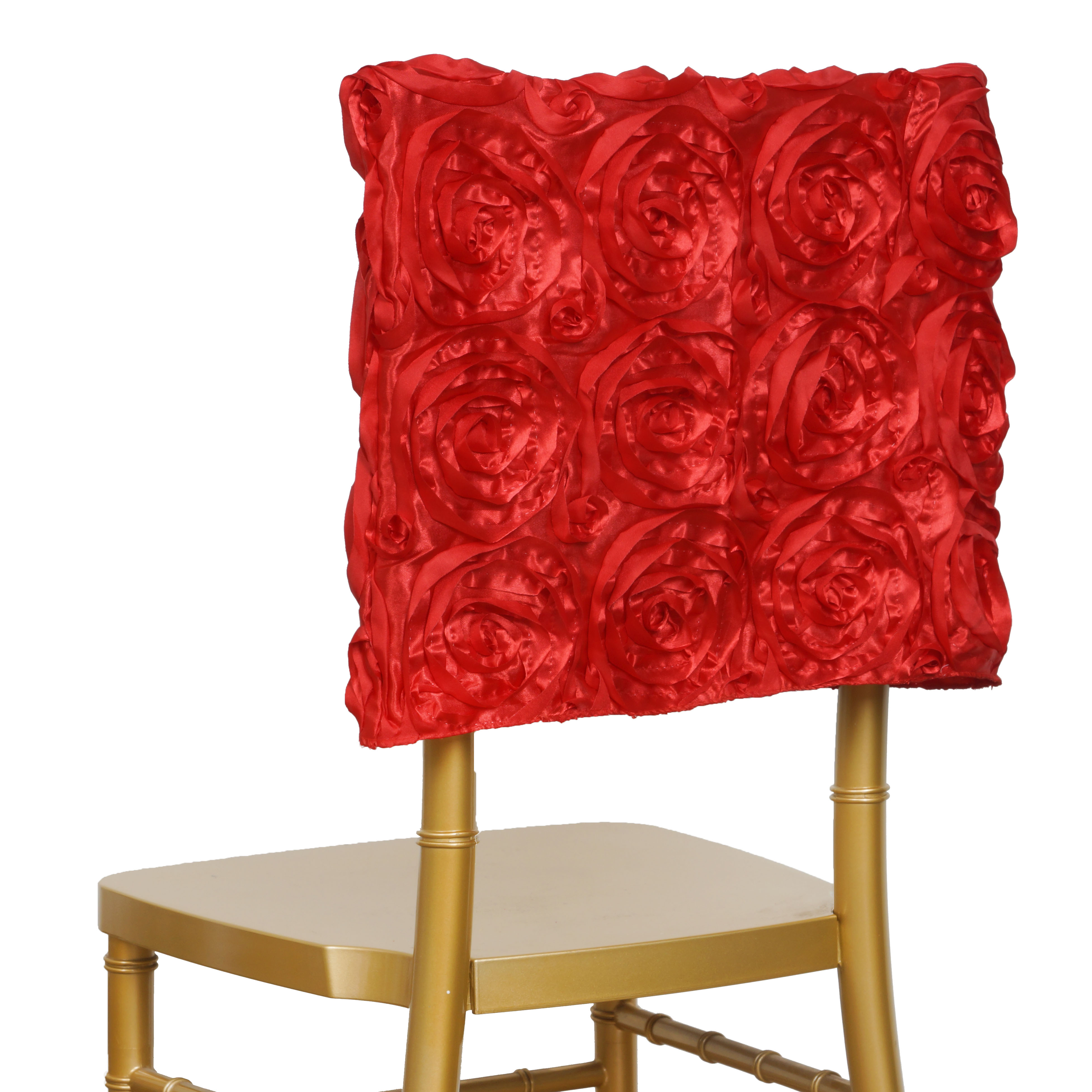 Outstanding Details About Red Chair Cover Square Top Cap Party Wedding Reception Ceremony Decorations Sale Theyellowbook Wood Chair Design Ideas Theyellowbookinfo