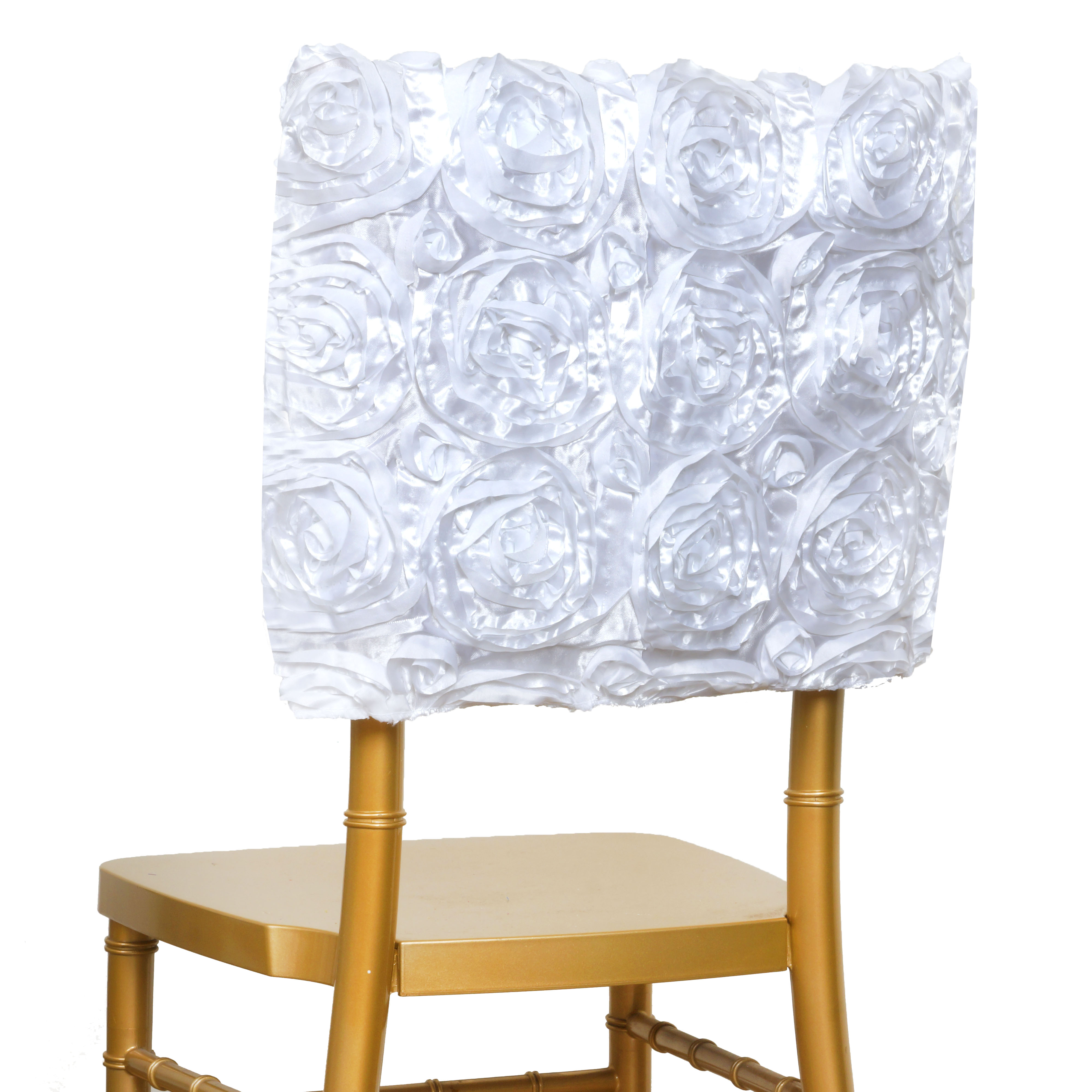 Awesome Details About White Chair Cover Square Top Cap Party Wedding Prom Reception Decorations Sale Theyellowbook Wood Chair Design Ideas Theyellowbookinfo