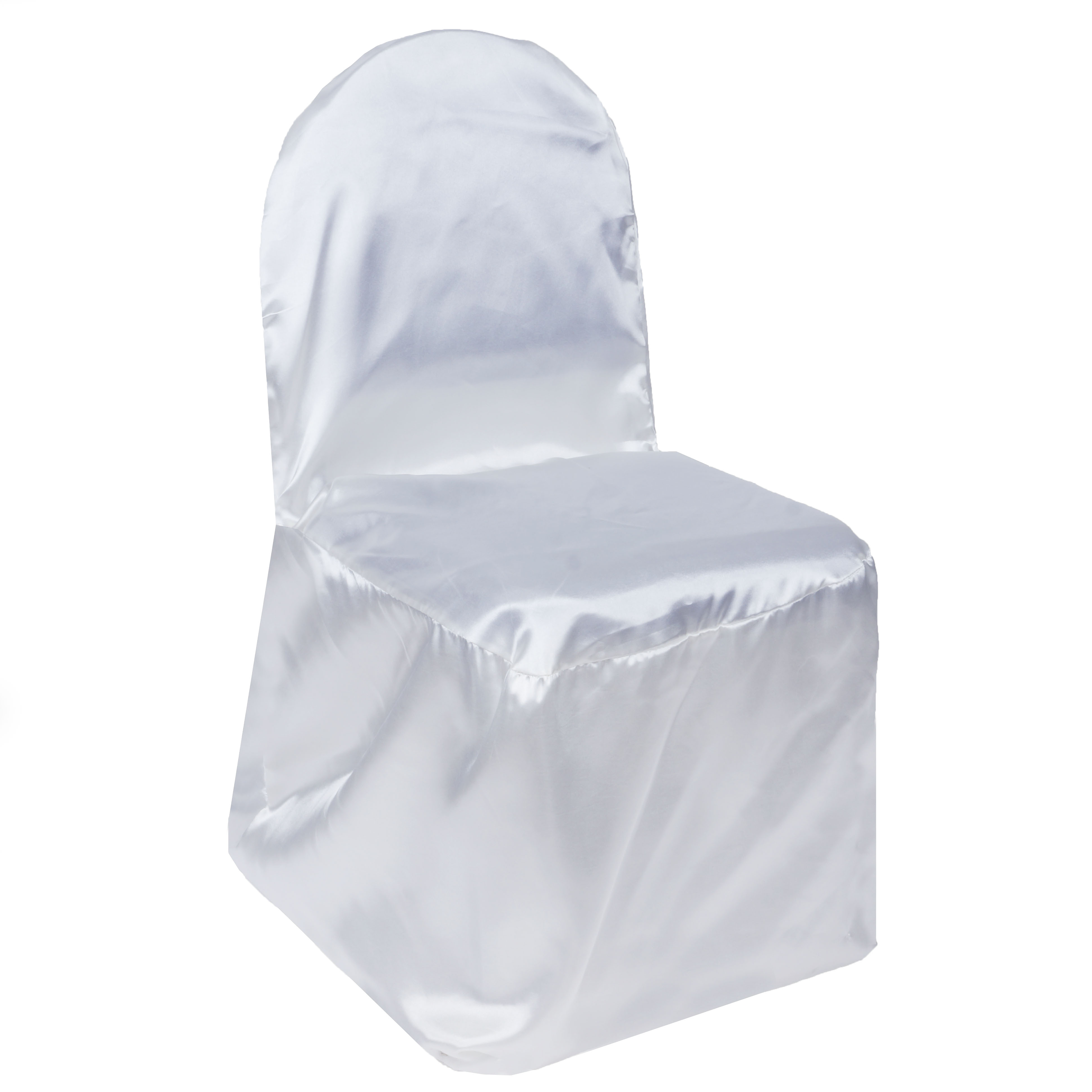 100 pcs SATIN BANQUET CHAIR COVERS Wholesale Wedding Party