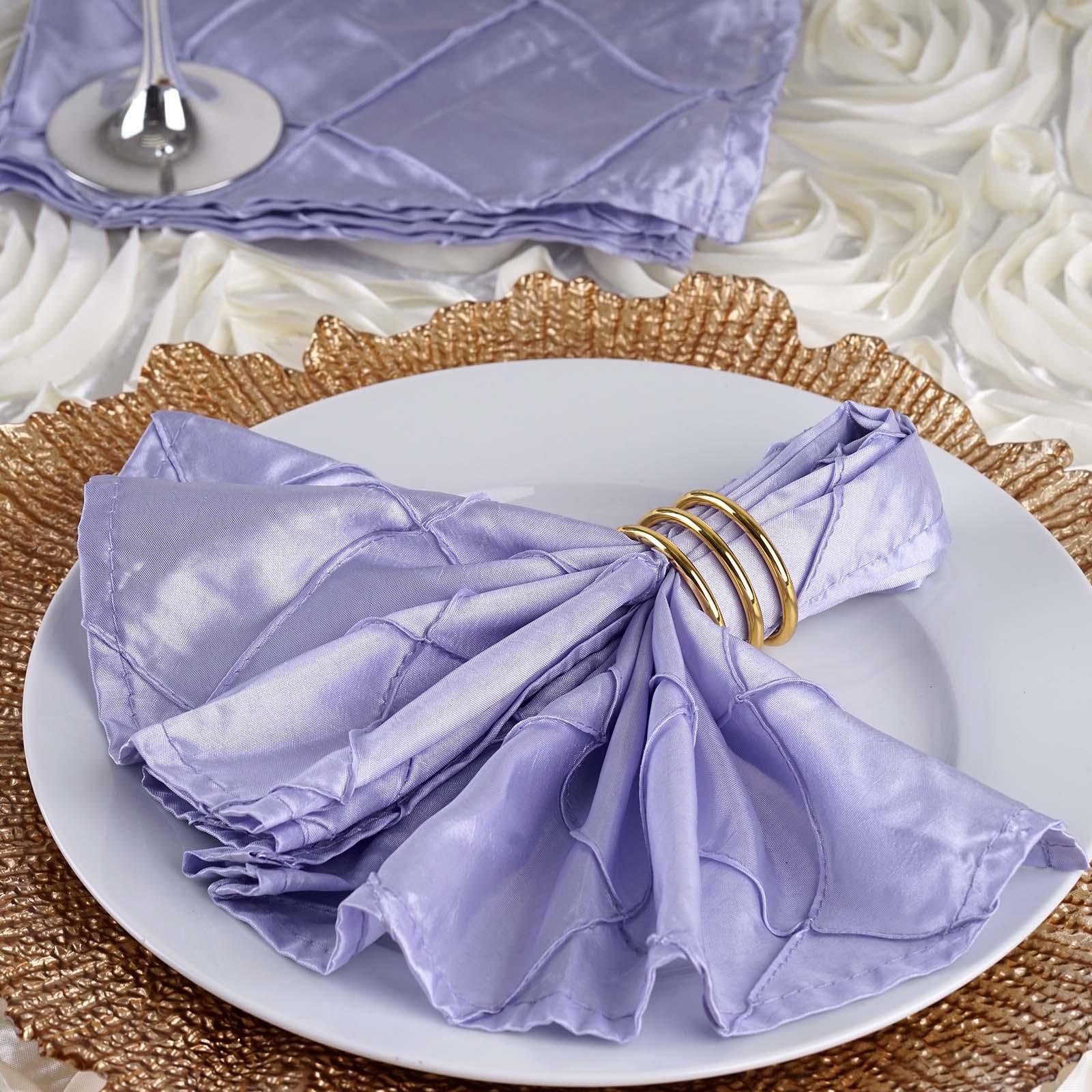 """25 pcs Fuchsia Fushia Polyester 17x17/"""" TABLE NAPKINS Wedding Party Kitchen Linen"""