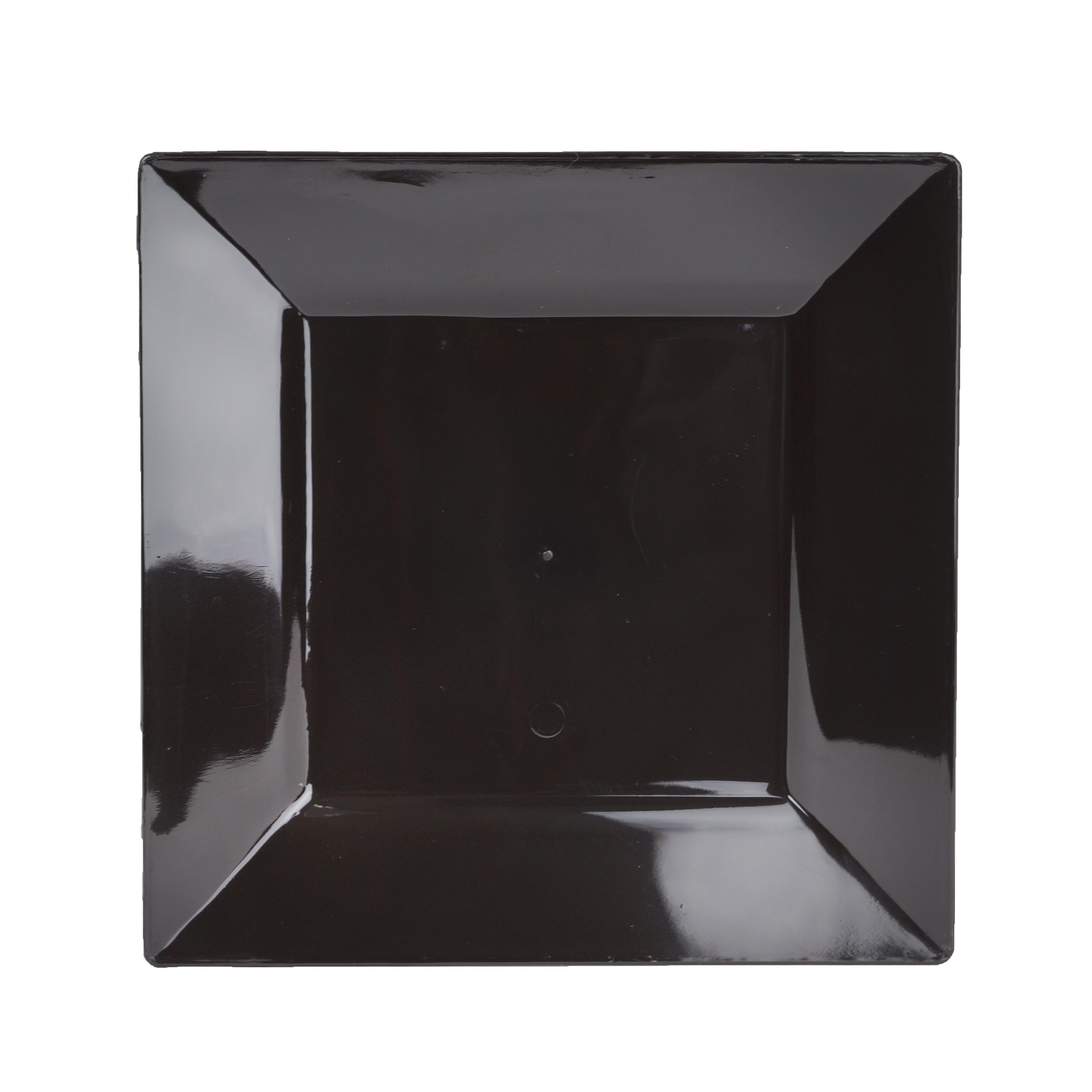 Plastic-6-5-034-Square-PLATES-Disposable-TABLEWARE-  sc 1 st  eBay & Plastic 6.5