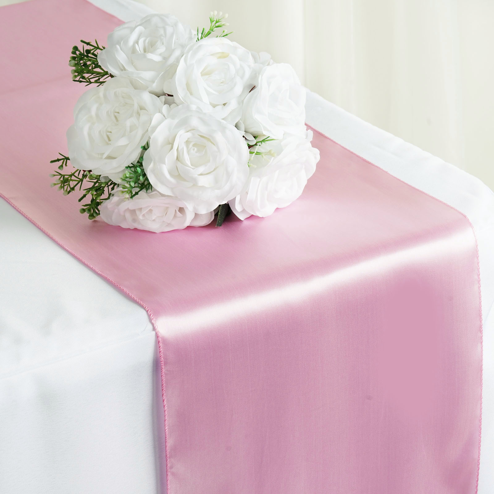 Wedding Decorations For Sale.Details About Pink Satin 12x108 Table Runner Wedding Party Catering Dinner Decorations Sale