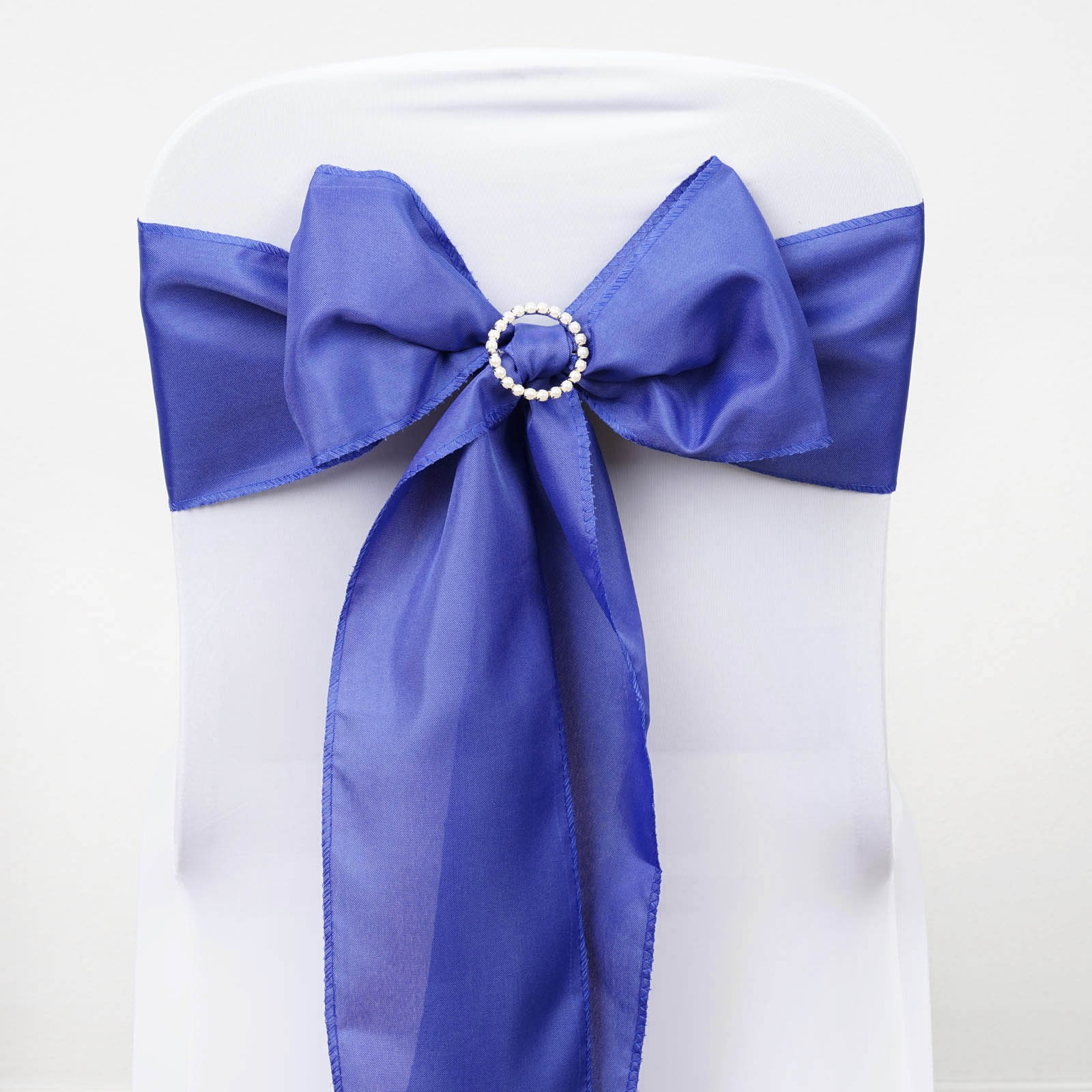 100 Polyester CHAIR SASHES Ties Bows Wedding Party