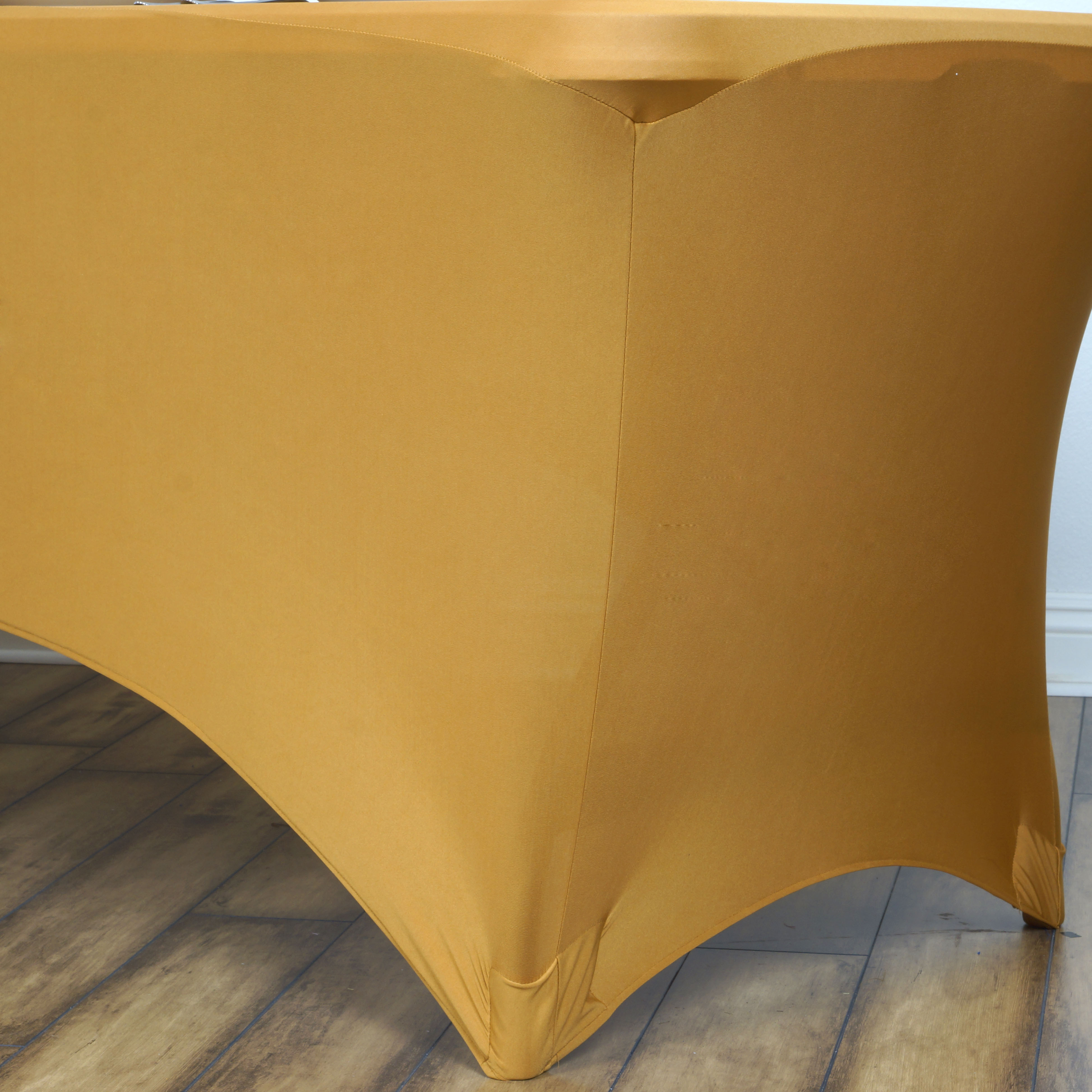 luxury gold spandex chair covers home design ideas