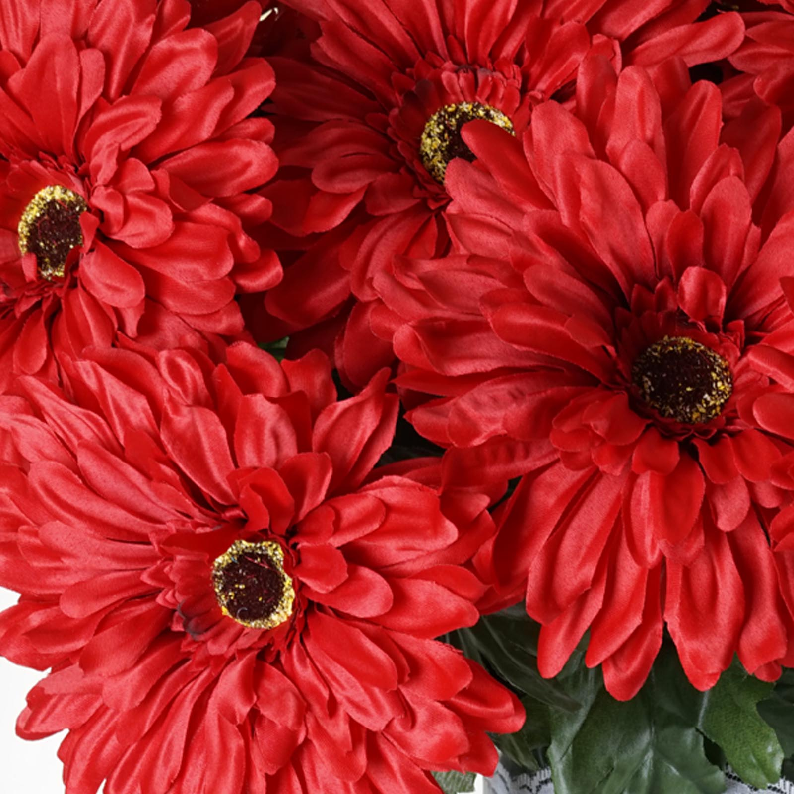 28 Artificial Gerbera Daisy Wedding Flowers Bushes 10 Colors Ebay