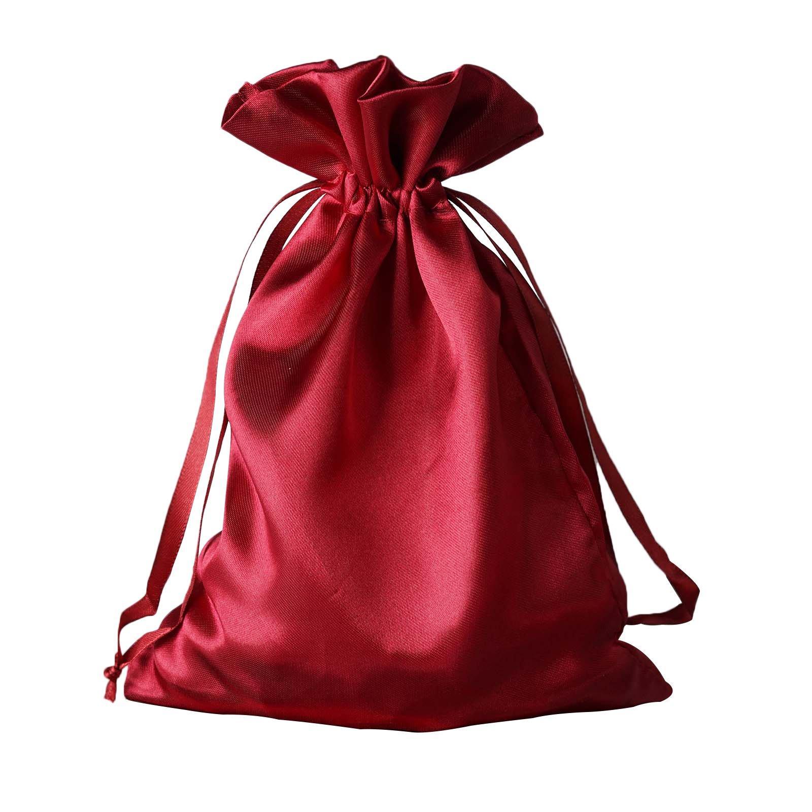 """60 pcs 6x9/"""" SATIN FAVOR BAGS Wedding Party Reception Gift Favors WHOLESALE Bulk"""