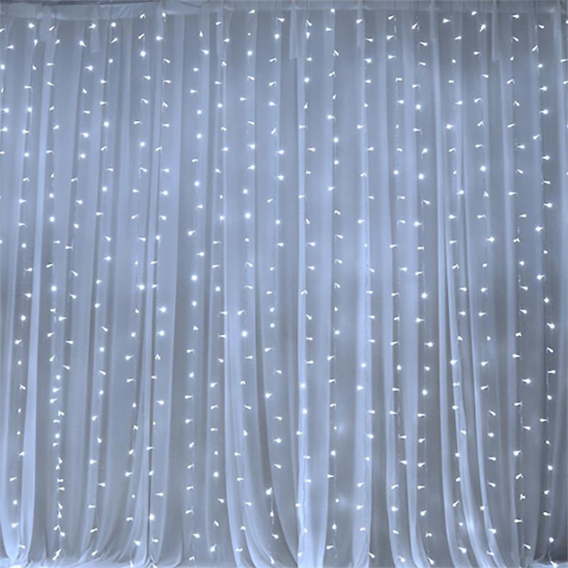 20 Ft X 10 Ft Led Lights Organza Backdrop Curtain Ebay