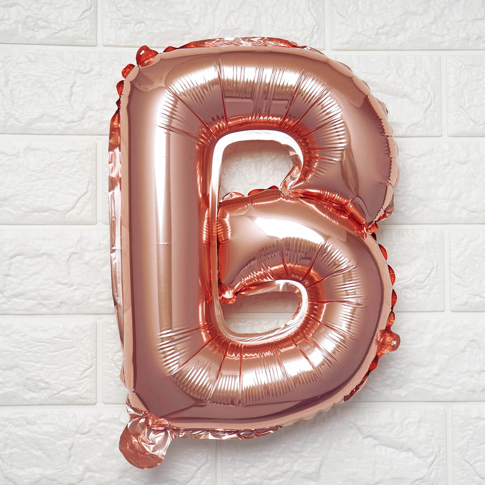 Rose Gold Letter Series Foil Latex Balloon Helium Wedding Birthday Party Decor