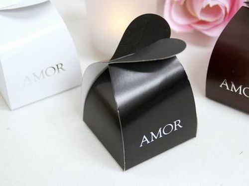 Boxed Wedding Invitations Wholesale: 100 Amor Heart Favor Boxes Unique Hispanic Wedding Party