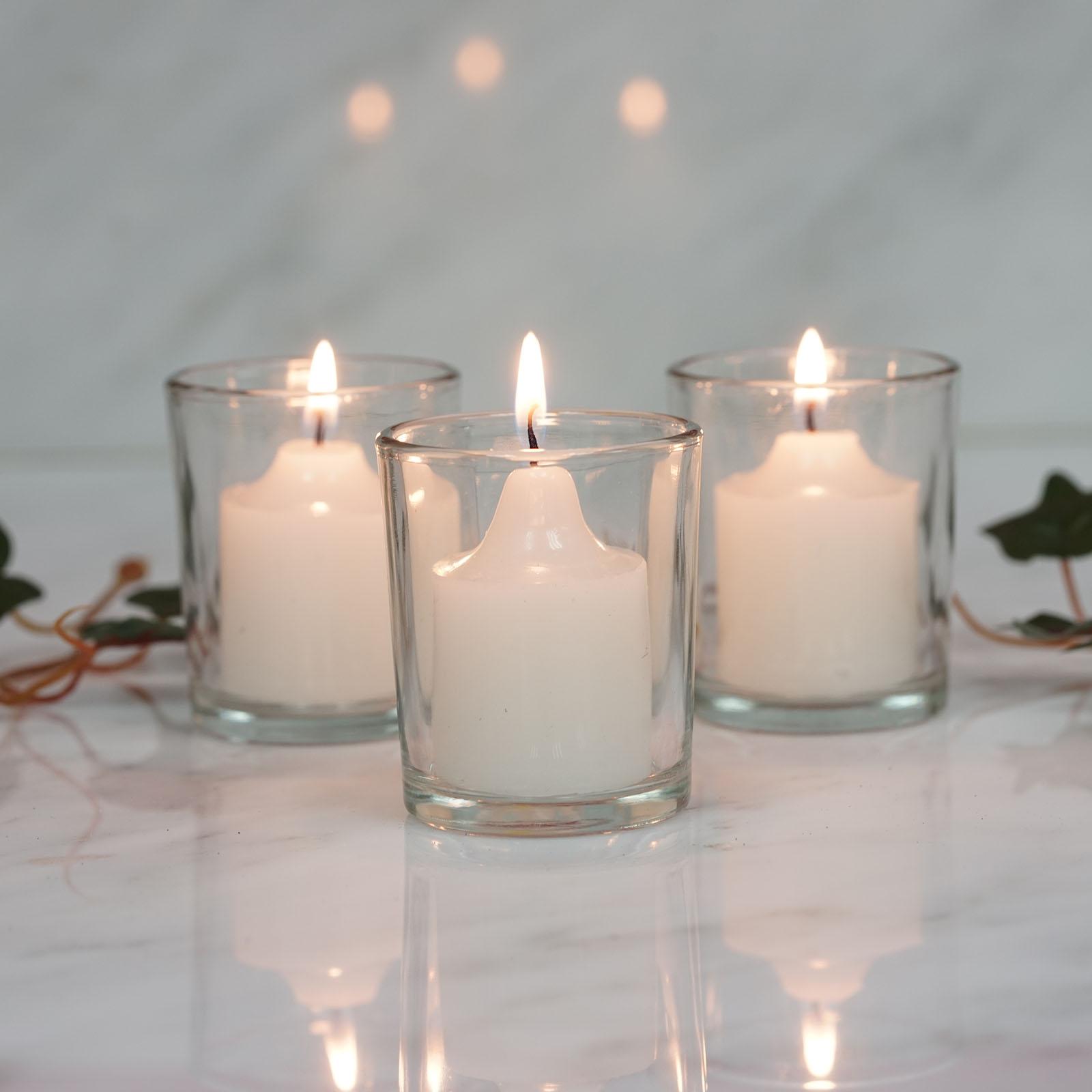 Clear Votive Candle Holders Wedding Favor Centerpiece Decorations Wholesale Ebay