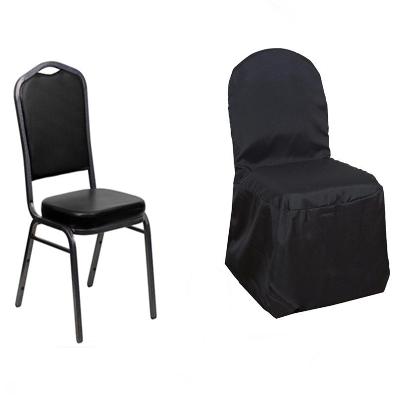 10 pcs sample polyester banquet chair covers for wedding reception 10 pcs sample polyester banquet chair covers for junglespirit Gallery