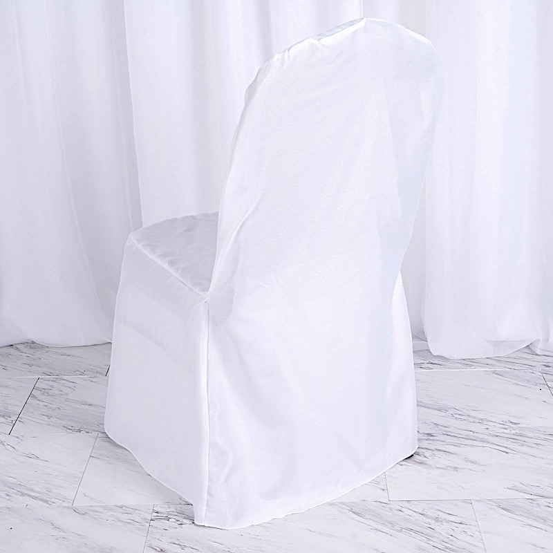 10-pcs-SAMPLE-Polyester-Banquet-CHAIR-COVERS-for-  sc 1 st  eBay & 10 pcs SAMPLE Polyester Banquet CHAIR COVERS for Wedding Reception ...