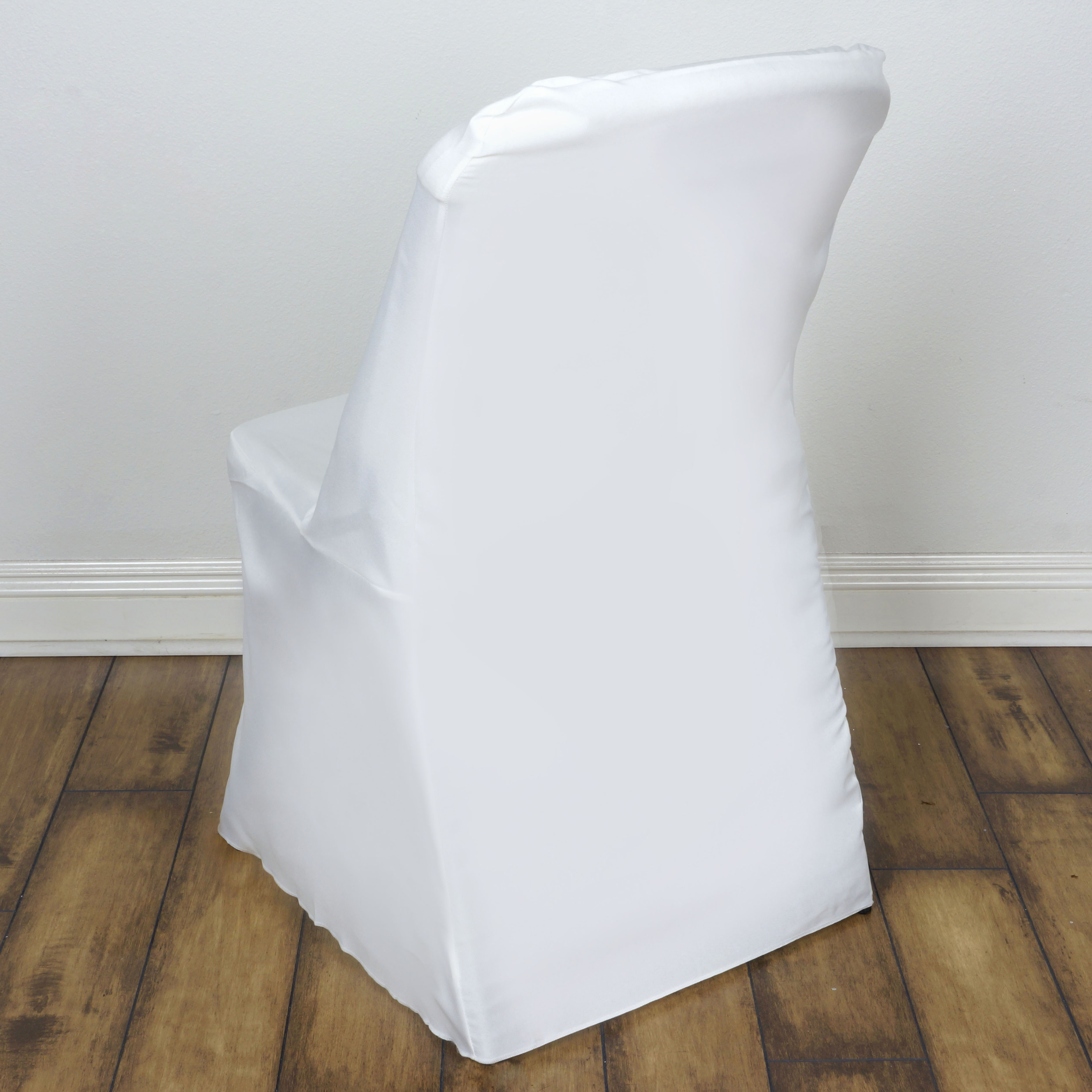 25 Pcs Lifetime Folding Chair Covers Slipcovers Polyester