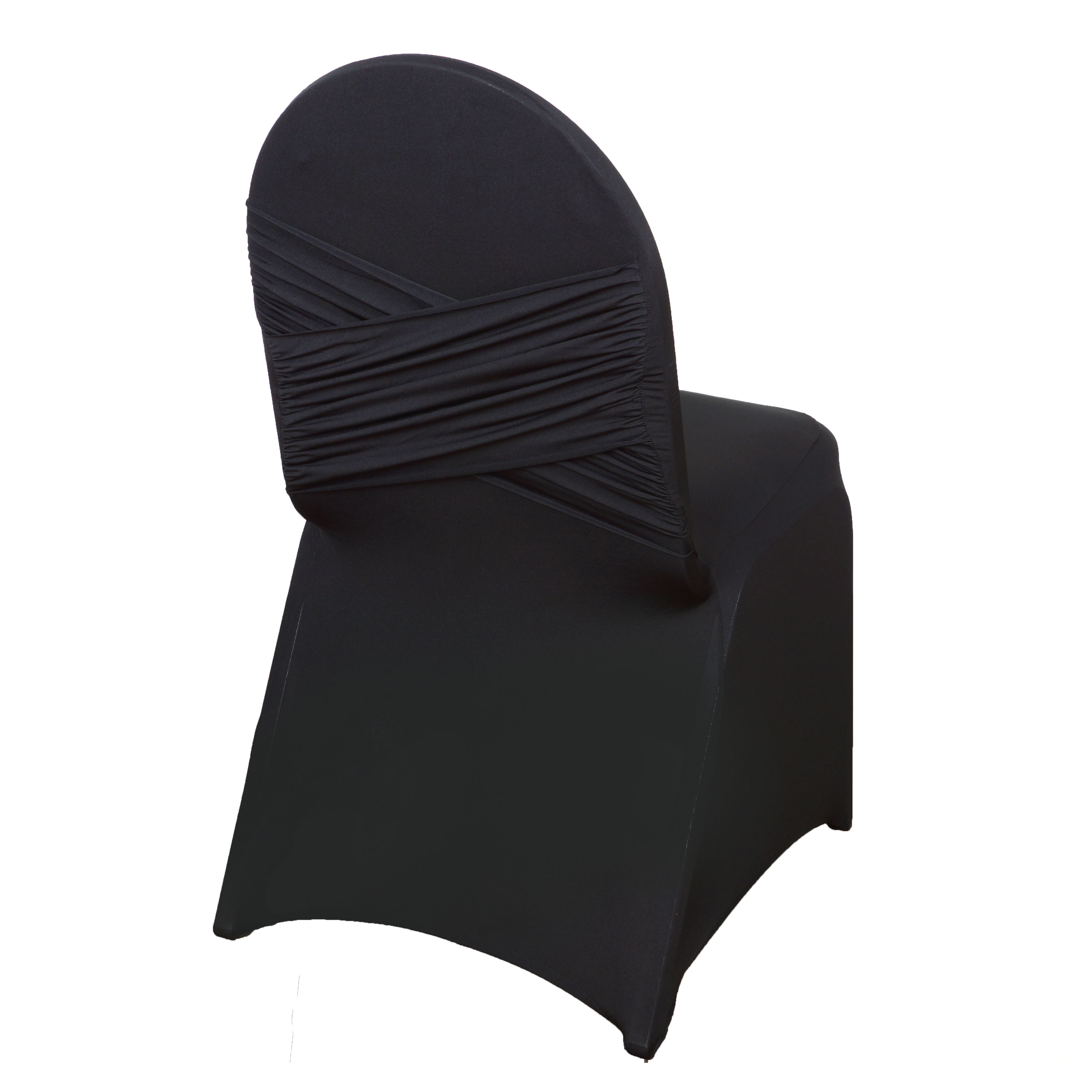 50 Pc Spandex Banquet Chair Cover Stretchable Crisscross