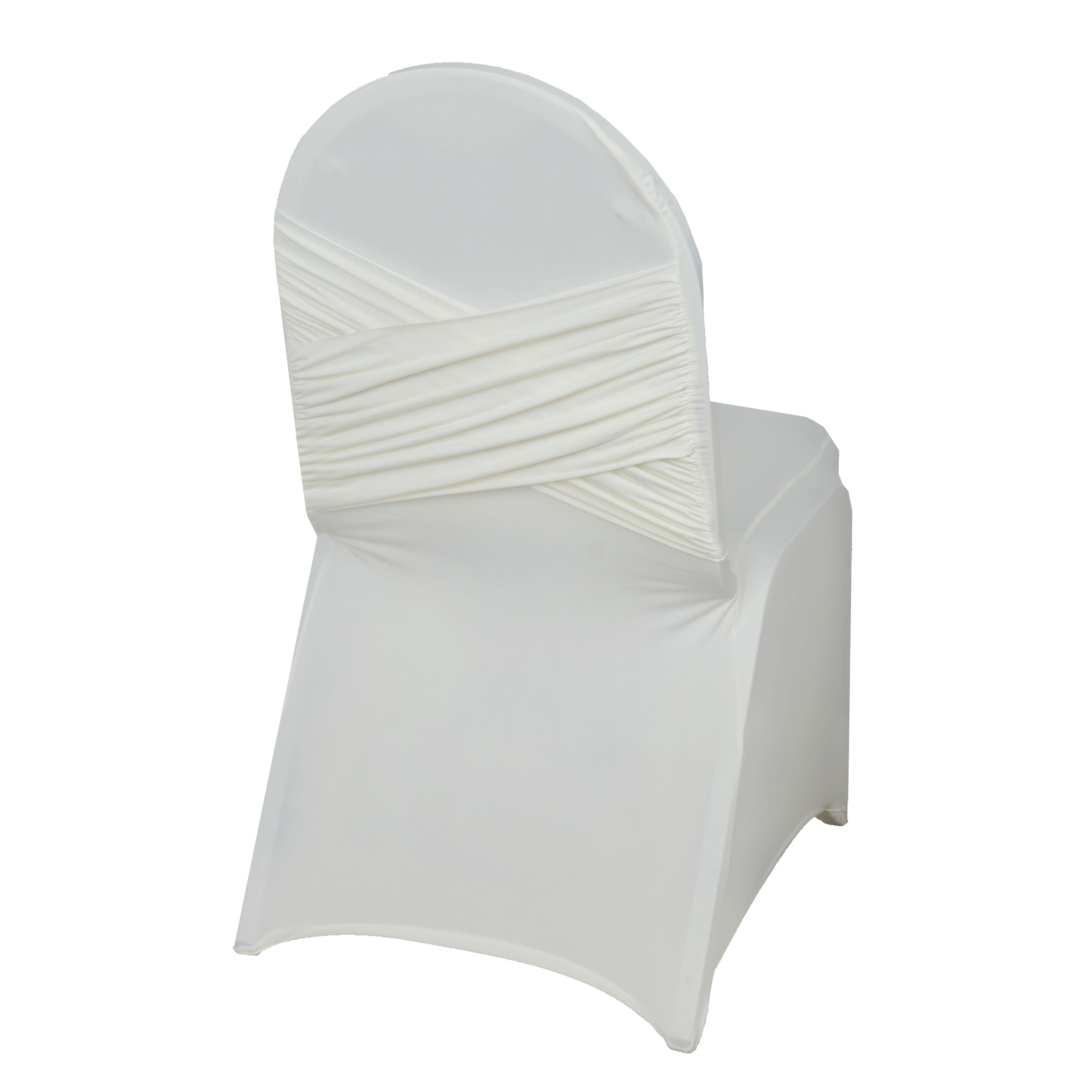 50 pc Spandex Banquet CHAIR COVER Stretchable Crisscross Design
