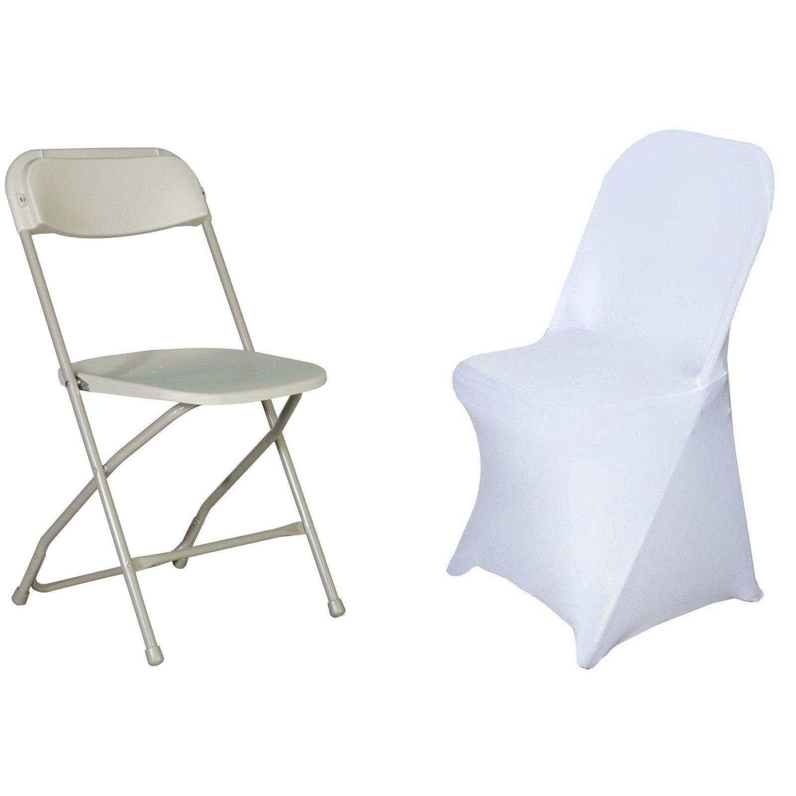 Peachy 2 Pcs Lifetime Spandex Stretch Fitted Folding Chair Covers Bralicious Painted Fabric Chair Ideas Braliciousco