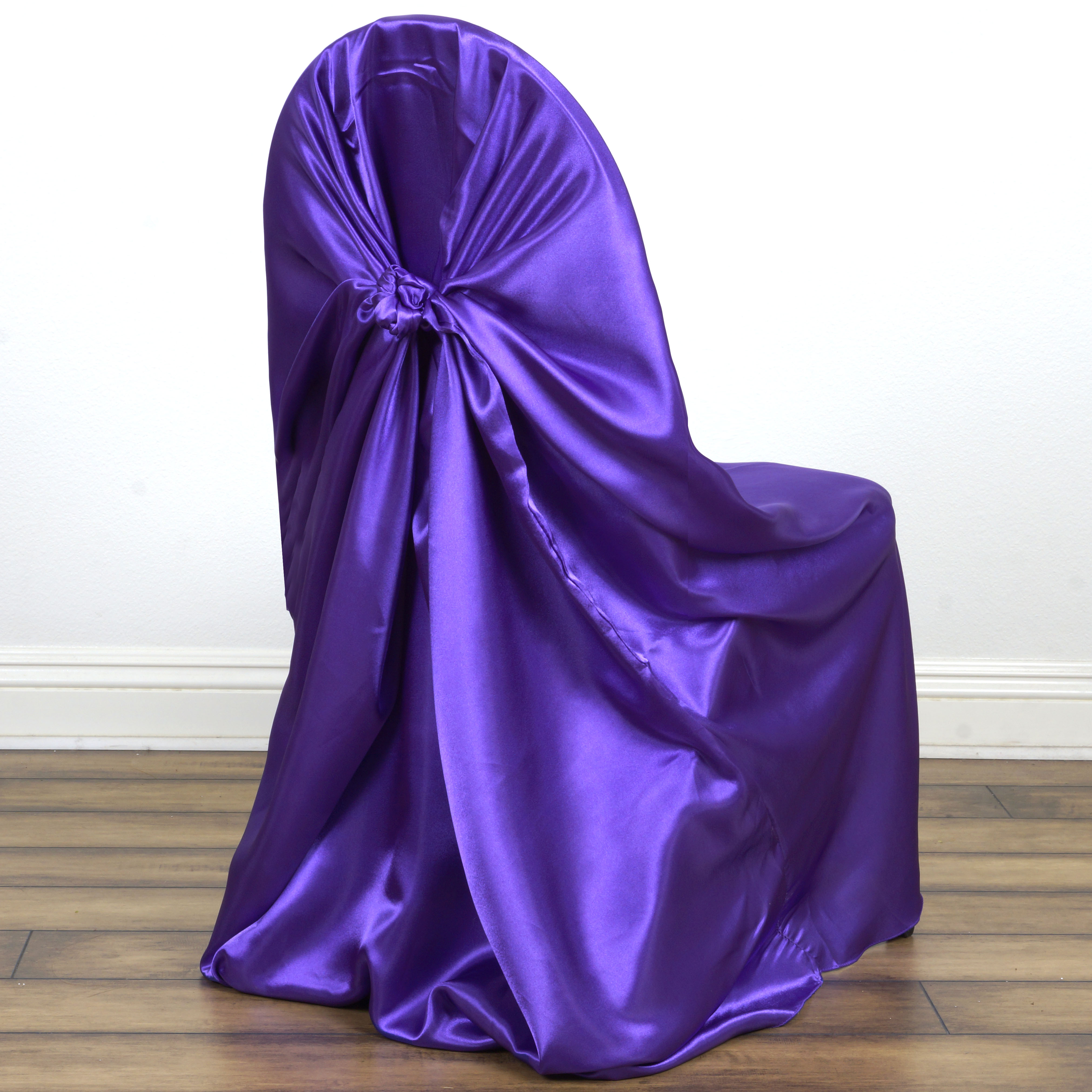 100 Universal Satin Self Tie For Any Kind Of Chair Cover