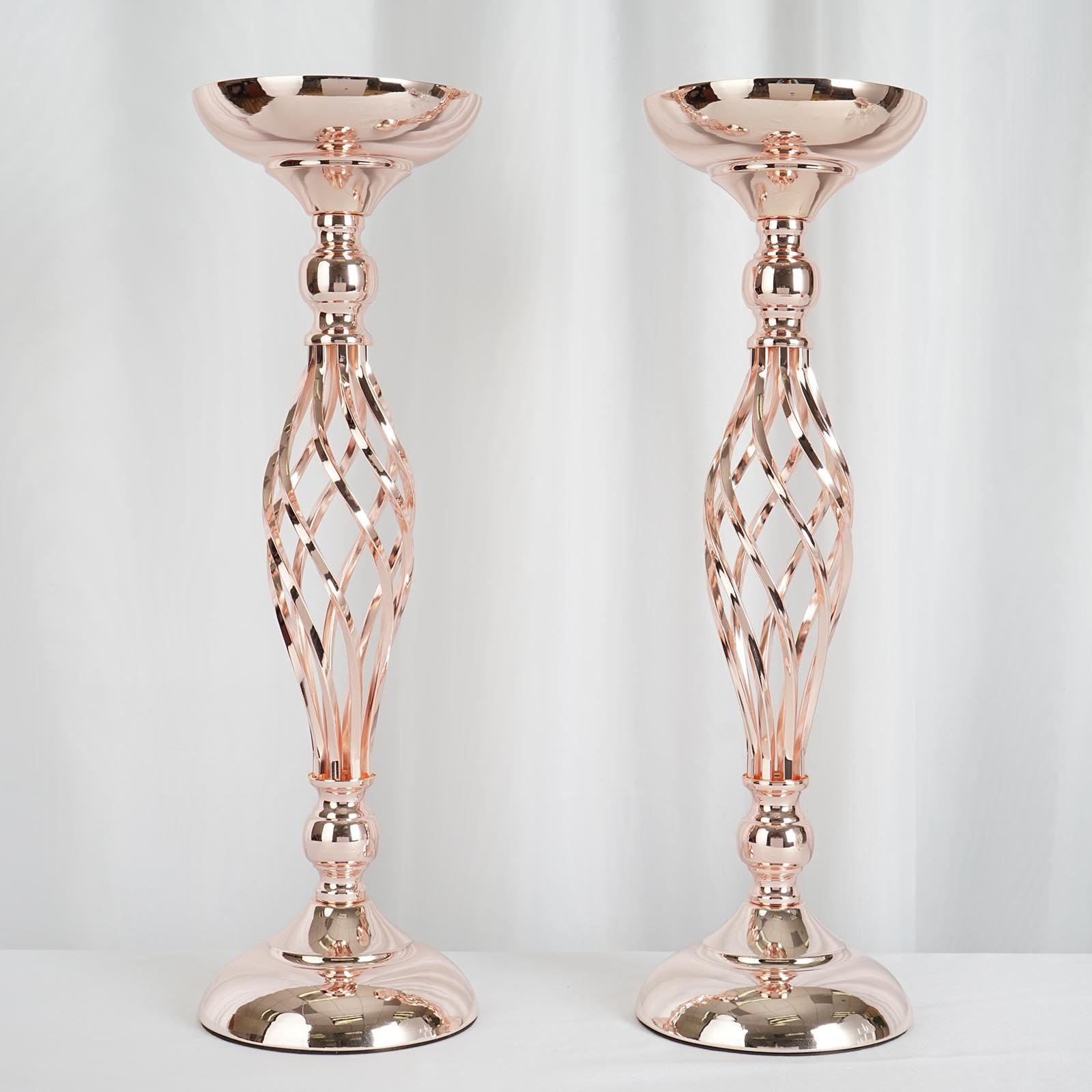 2 pcs 22 5 tall candle holder wedding vase centerpiece decorations wholesale ebay. Black Bedroom Furniture Sets. Home Design Ideas