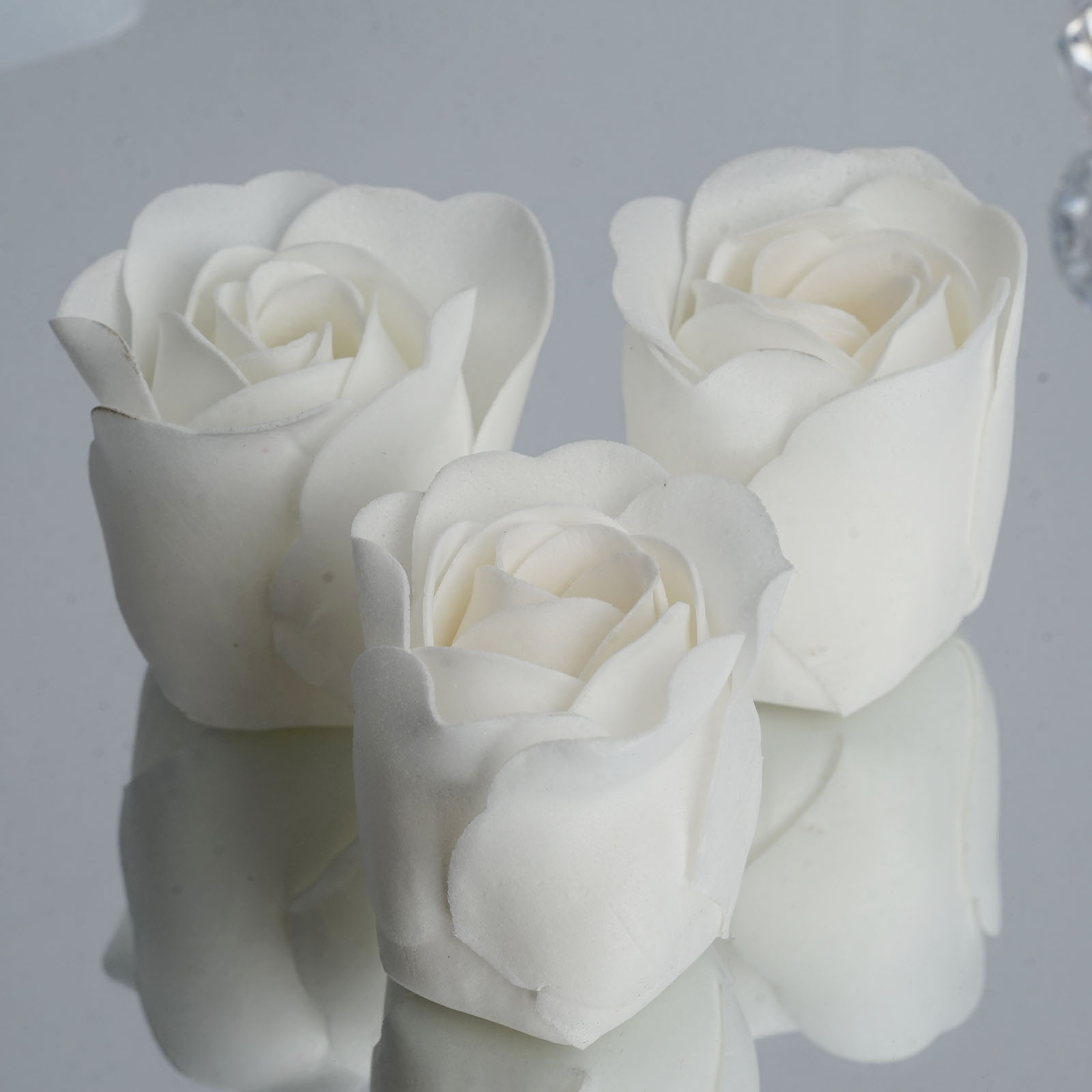 100 Wedding Favors Rose Soap Hearts in a Box - 24 colors FREE ...
