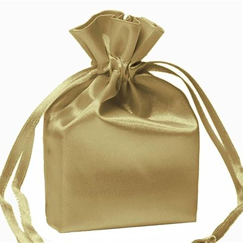 """Wedding Gift Pouches: 4x6"""" SATIN BAGS With Pull String Wedding Party Gift Favors"""