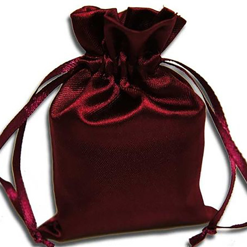 """Wedding Gift Pouches: 4x5"""" SATIN BAGS With Pull String Wedding Party Gift Favors"""